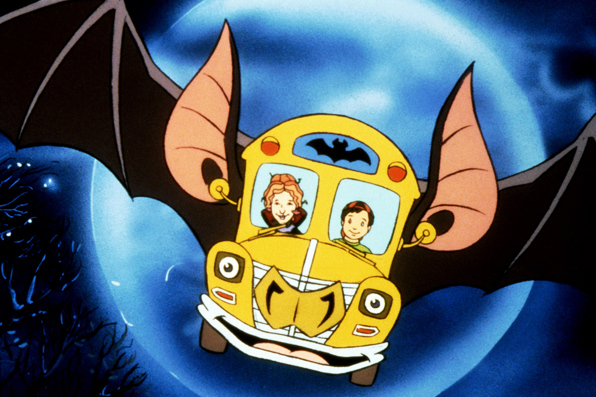 THE MAGIC SCHOOL BUS, (from left): Ms. Valerie Frizzle, Ralphie Tennelli, 1994-97. photo: © Nelvana