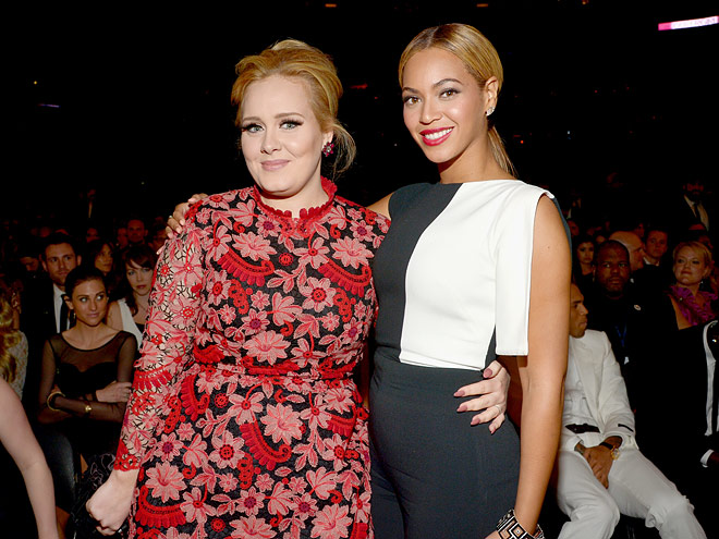 BEYONCé AND ADELE ARE TIED FOR MOST WINS IN A SINGLE NIGHT