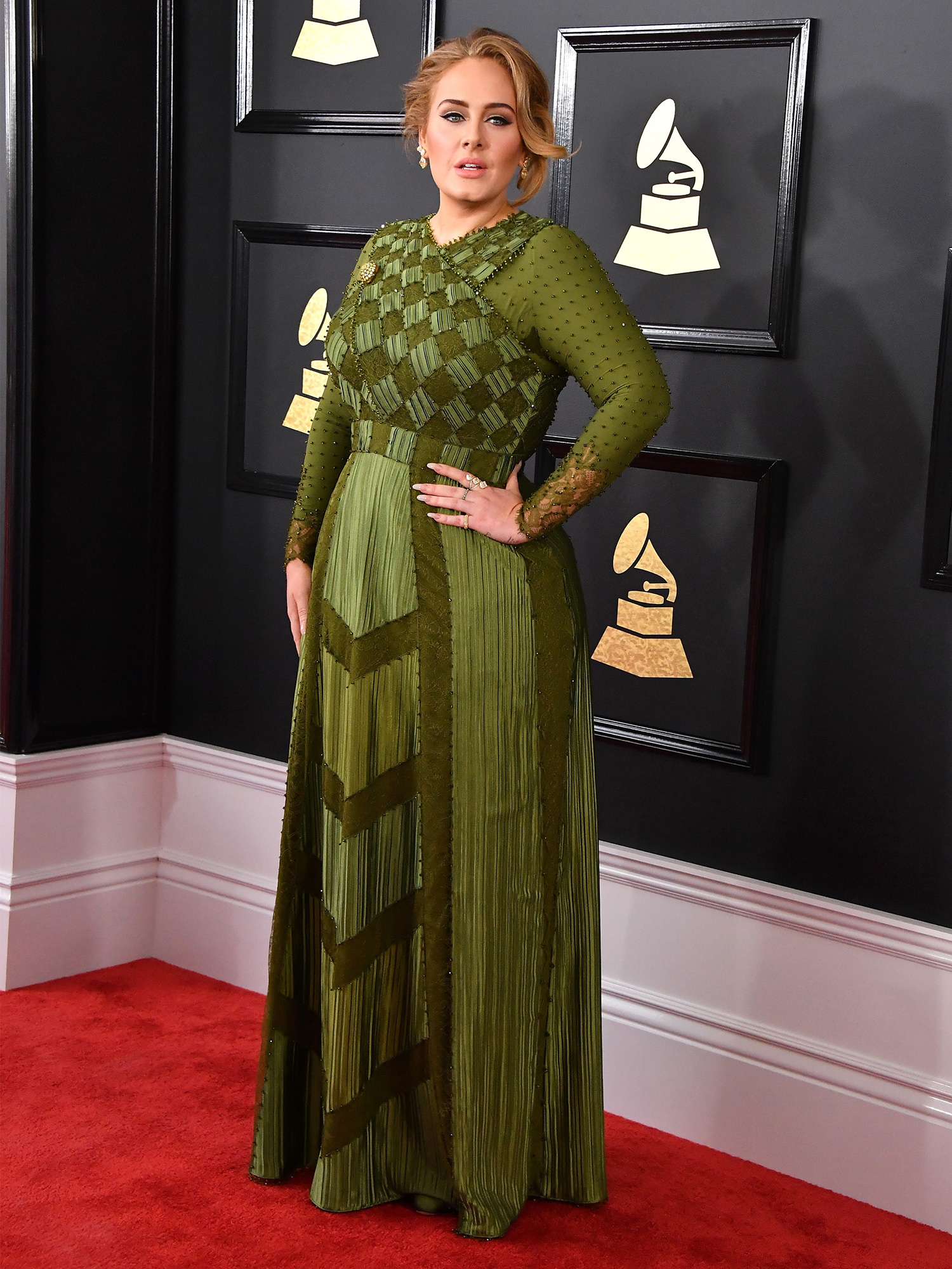 LOS ANGELES, CA - FEBRUARY 12: Singer Adele attends The 59th GRAMMY Awards at STAPLES Center on February 12, 2017 in Los Angeles, California. (Photo by Steve Granitz/WireImage)