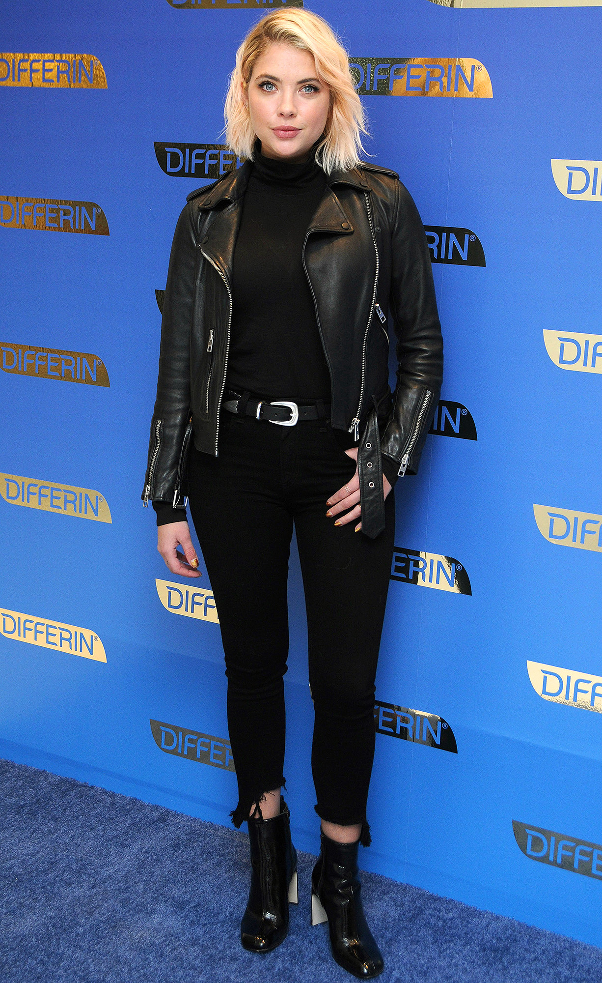 Ashley Benson celebrates the national launch of DIFFERIN GEL in NYC