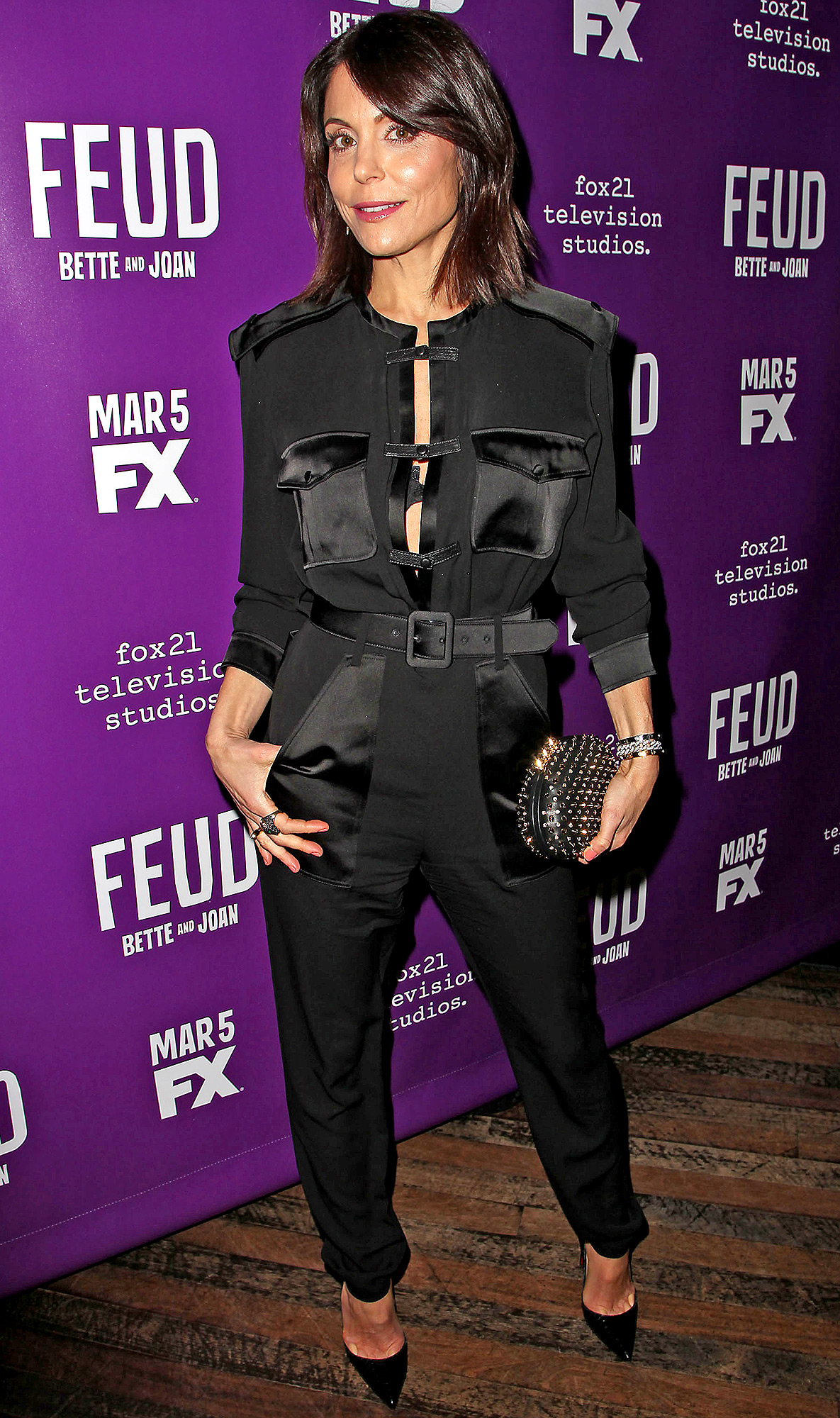 New York Special Screening of 'FEUD', USA - 11 Feb 2017
