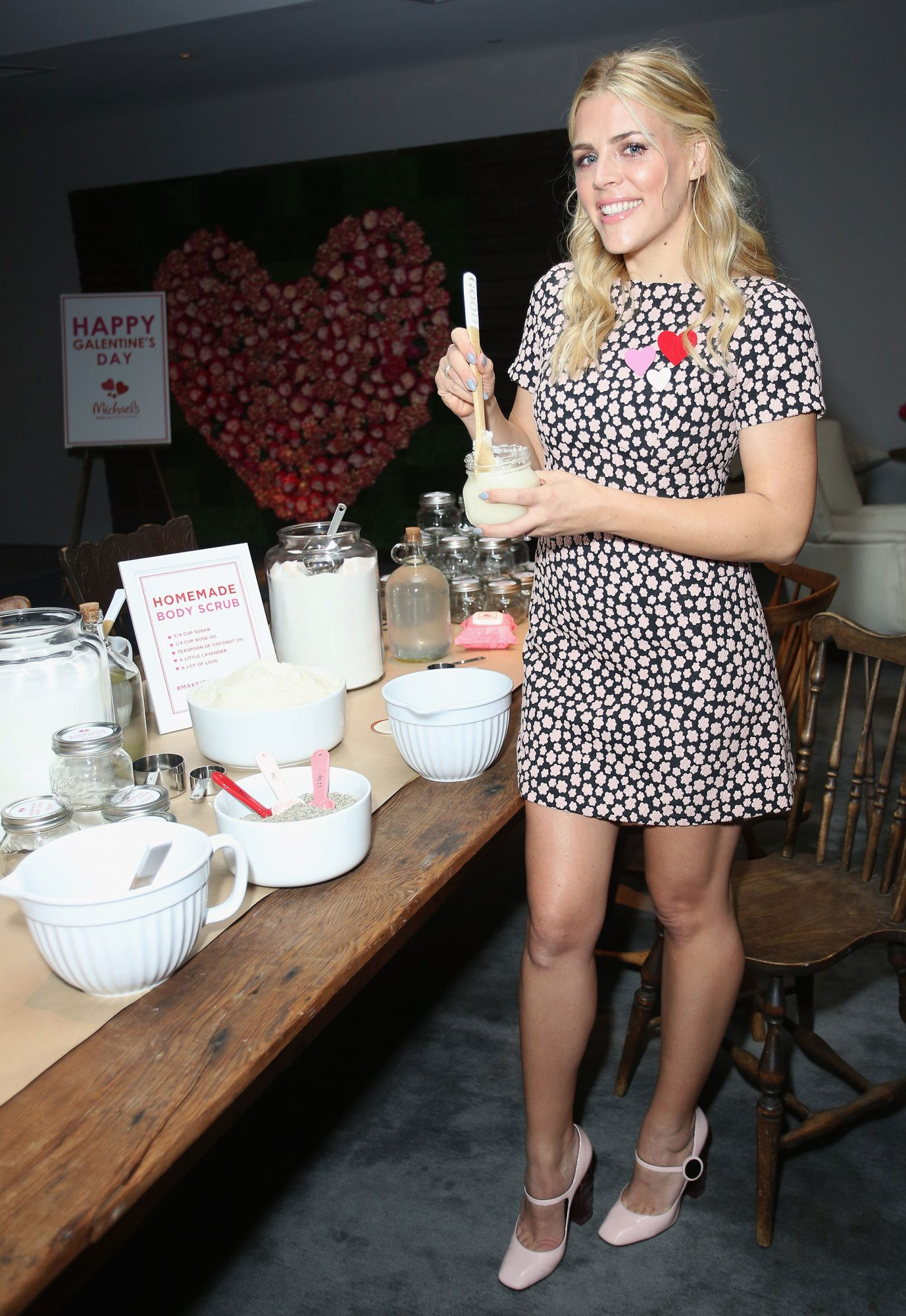 Busy Philipps and Michaels Galentine's Day Celebration