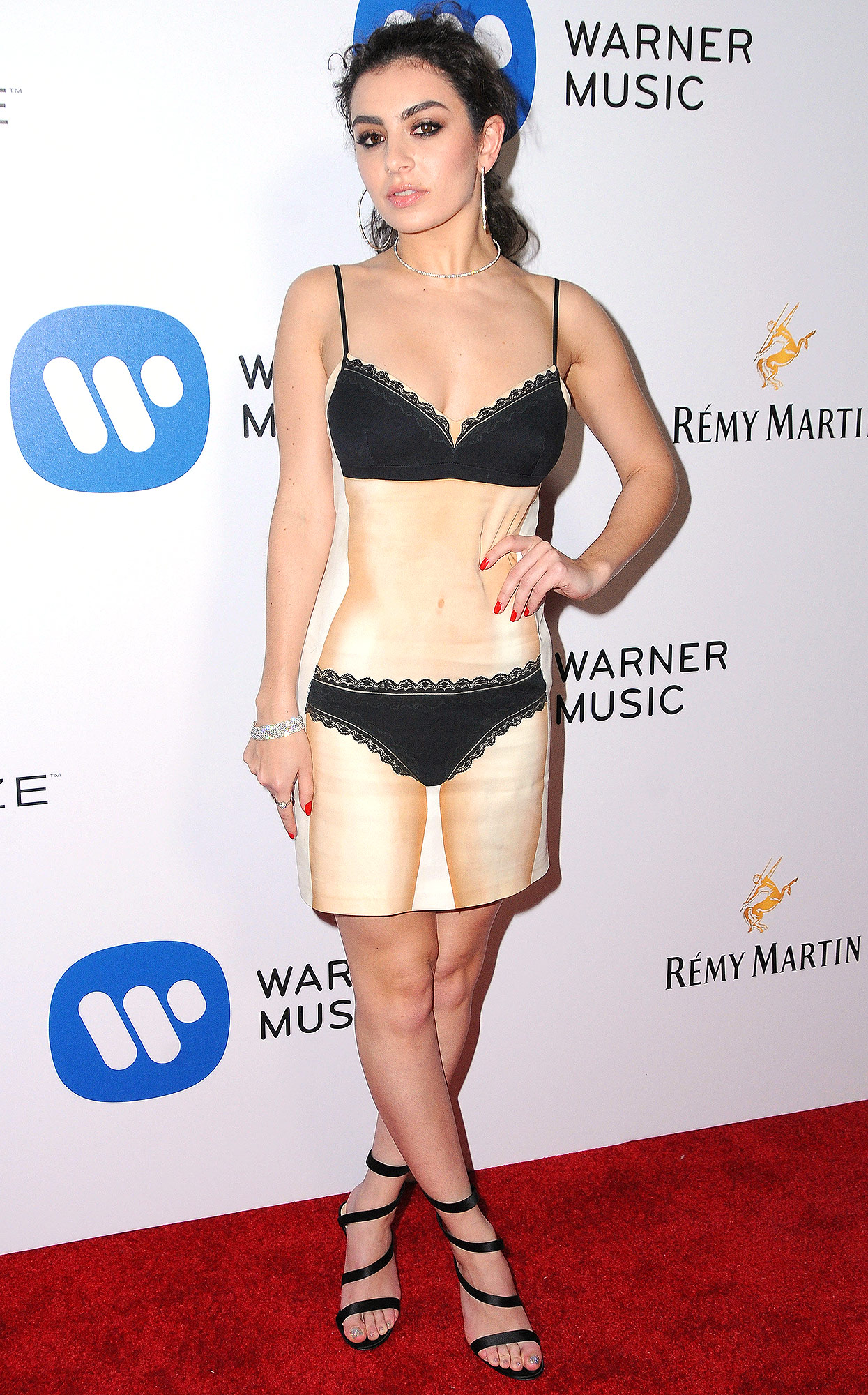 Celebrities attend the Warner Music Group Annual Grammy Celebration