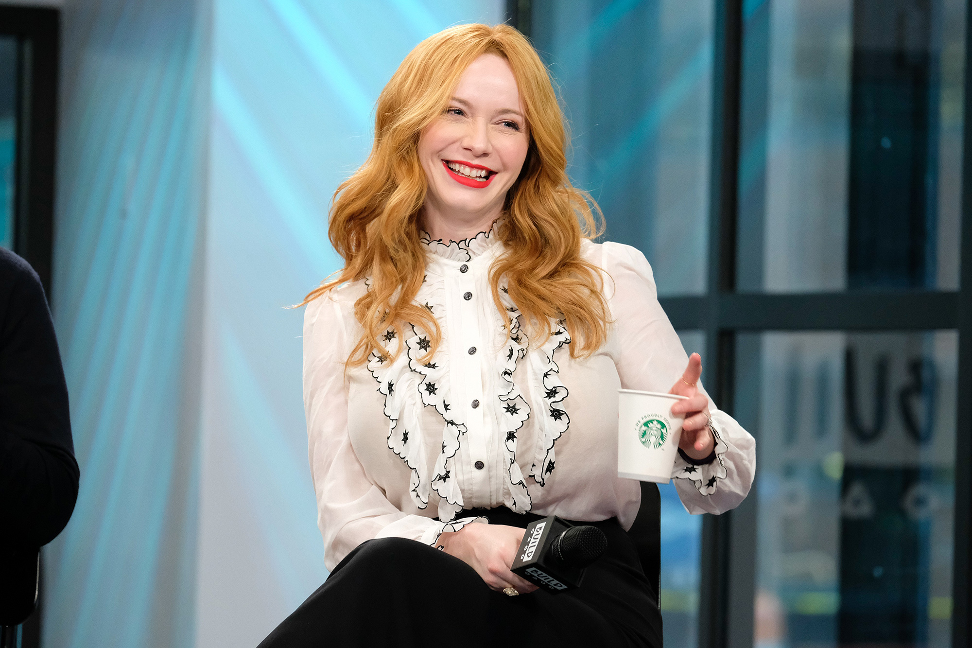 "Build Series Presents Charlie Day and Christina Hendricks Discussing ""Fist Fight"""