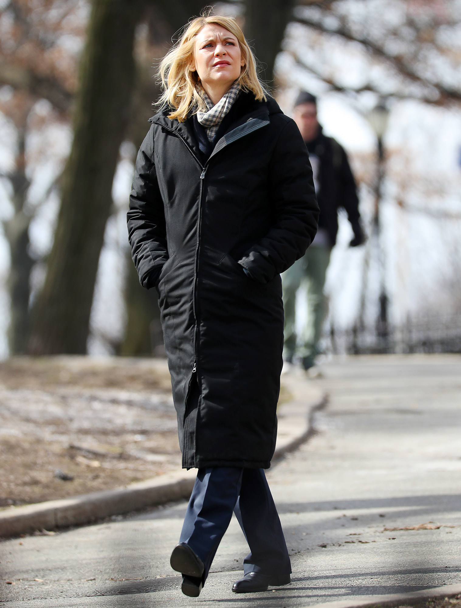 EXCLUSIVE: Claire Danes Is Spotted on the Set of 'Homeland'