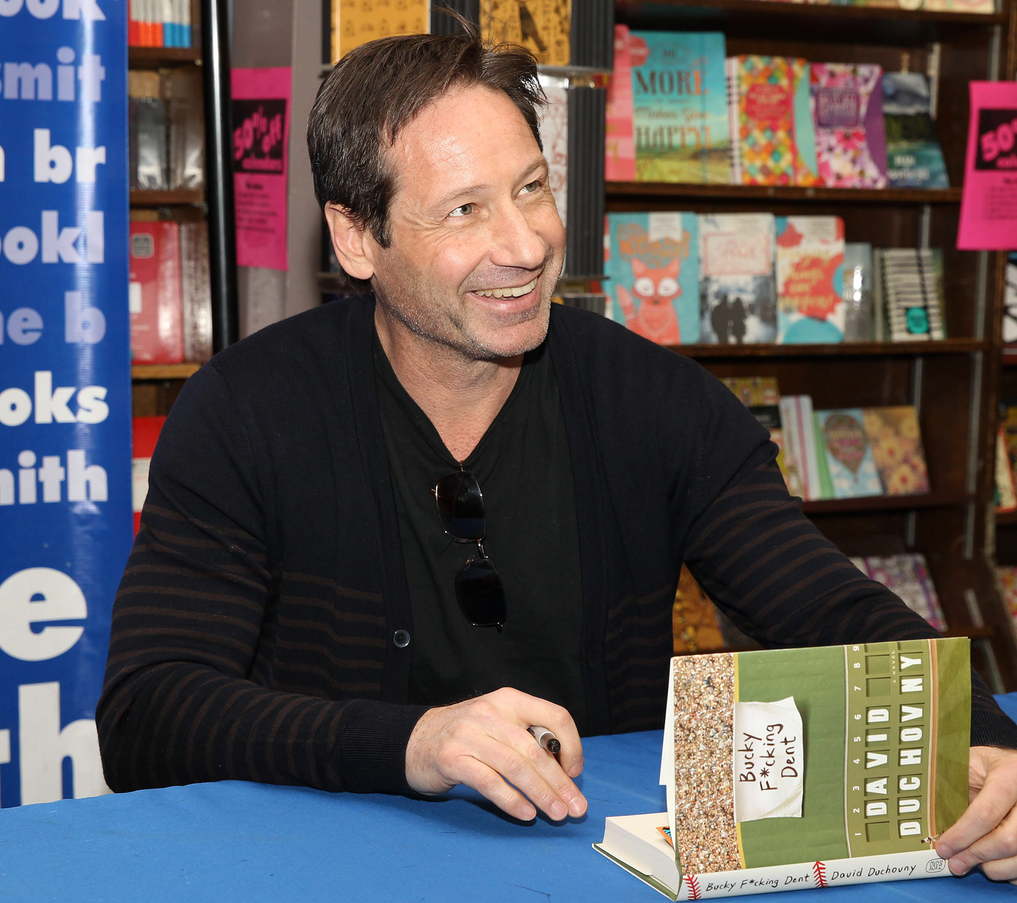 David Duchovny Signing Copies Of His New Book