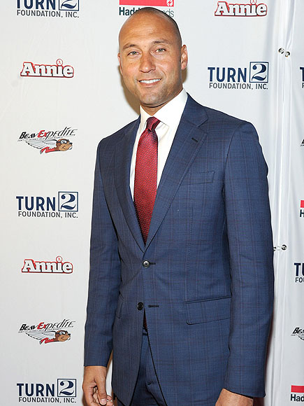 Derek Jeter attends the Derek Jeter's Annual Turn 2 Holiday Express Event at AMC Lincoln Square Theater on December 8, 2014 in New York City.