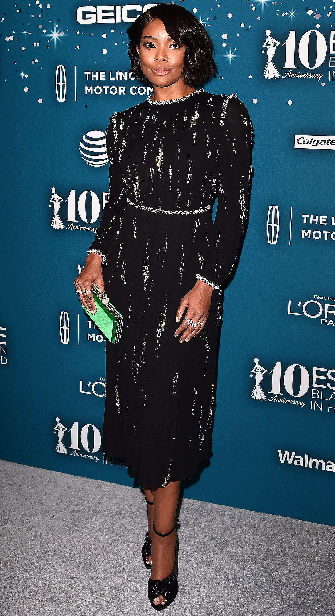 Guests arrive at the 10th Annual Essence Black Women in Hollywood Awards & Gala in Beverly Hills
