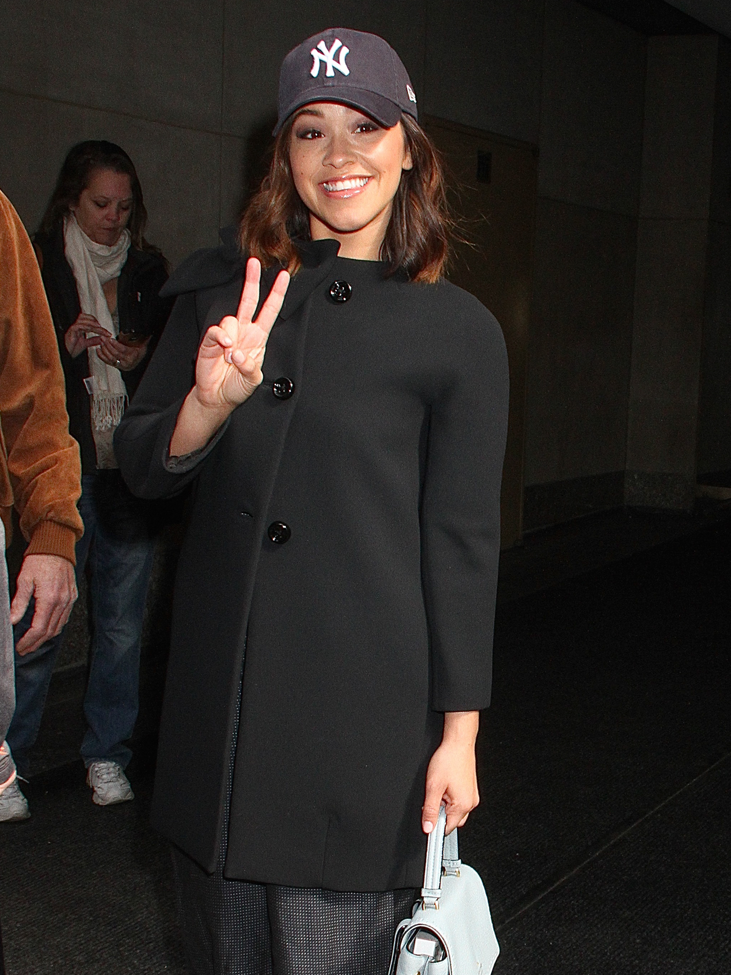 Gina Rodriguez at the 'Today' show in NYC