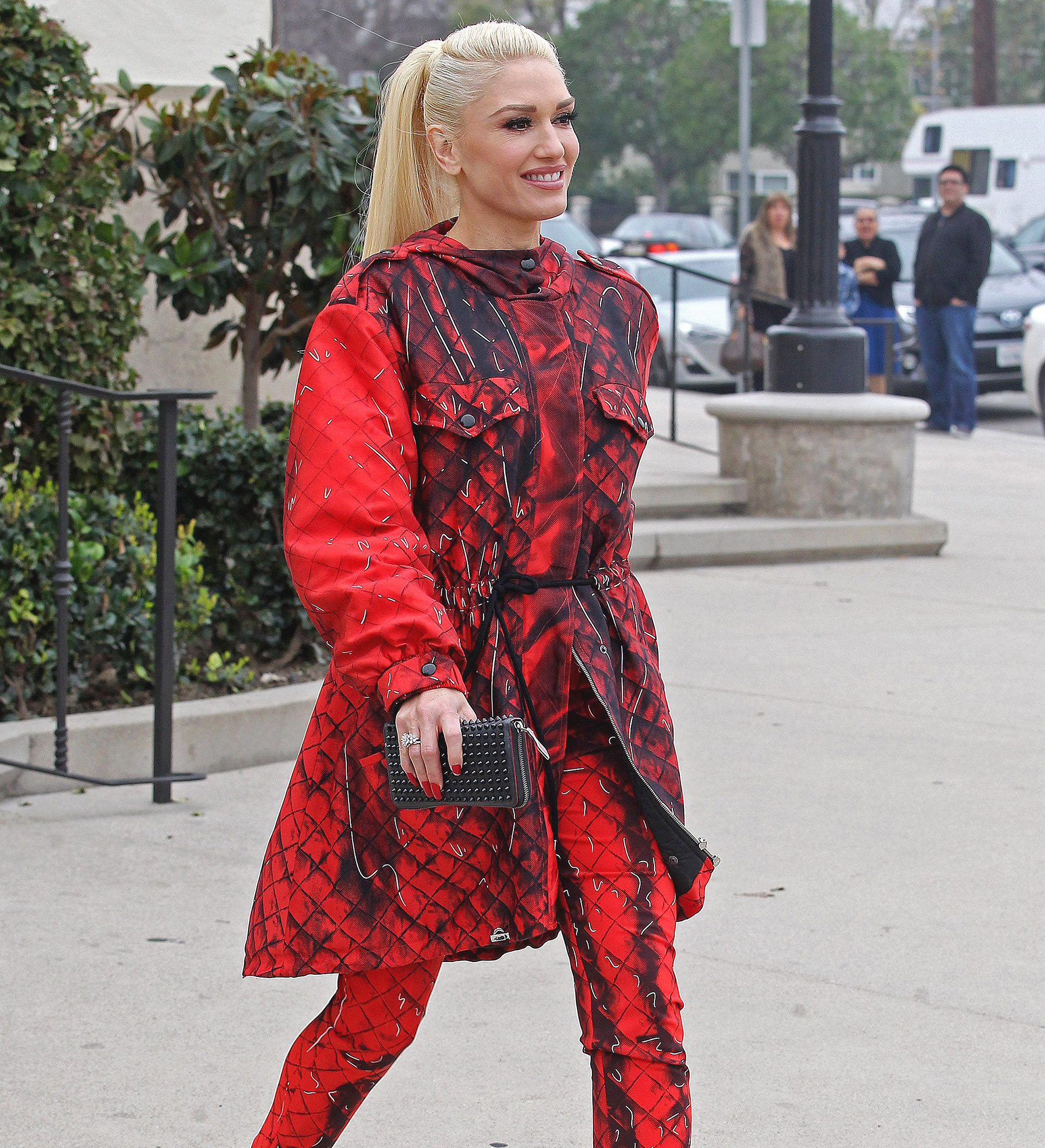 Gwen Stefani out and about, Los Angeles, USA - 05 Feb 2017