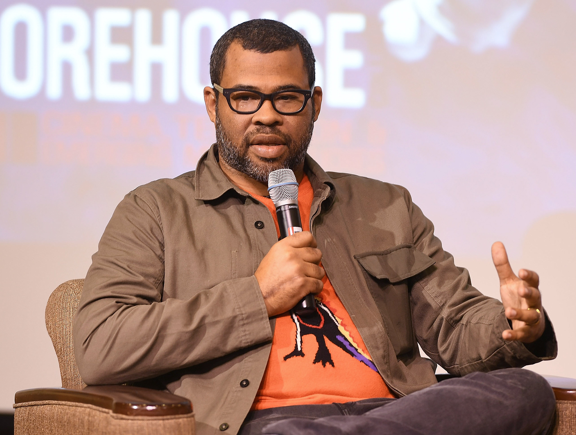 """""""Get Out"""" Q&A With Jordan Peele"""
