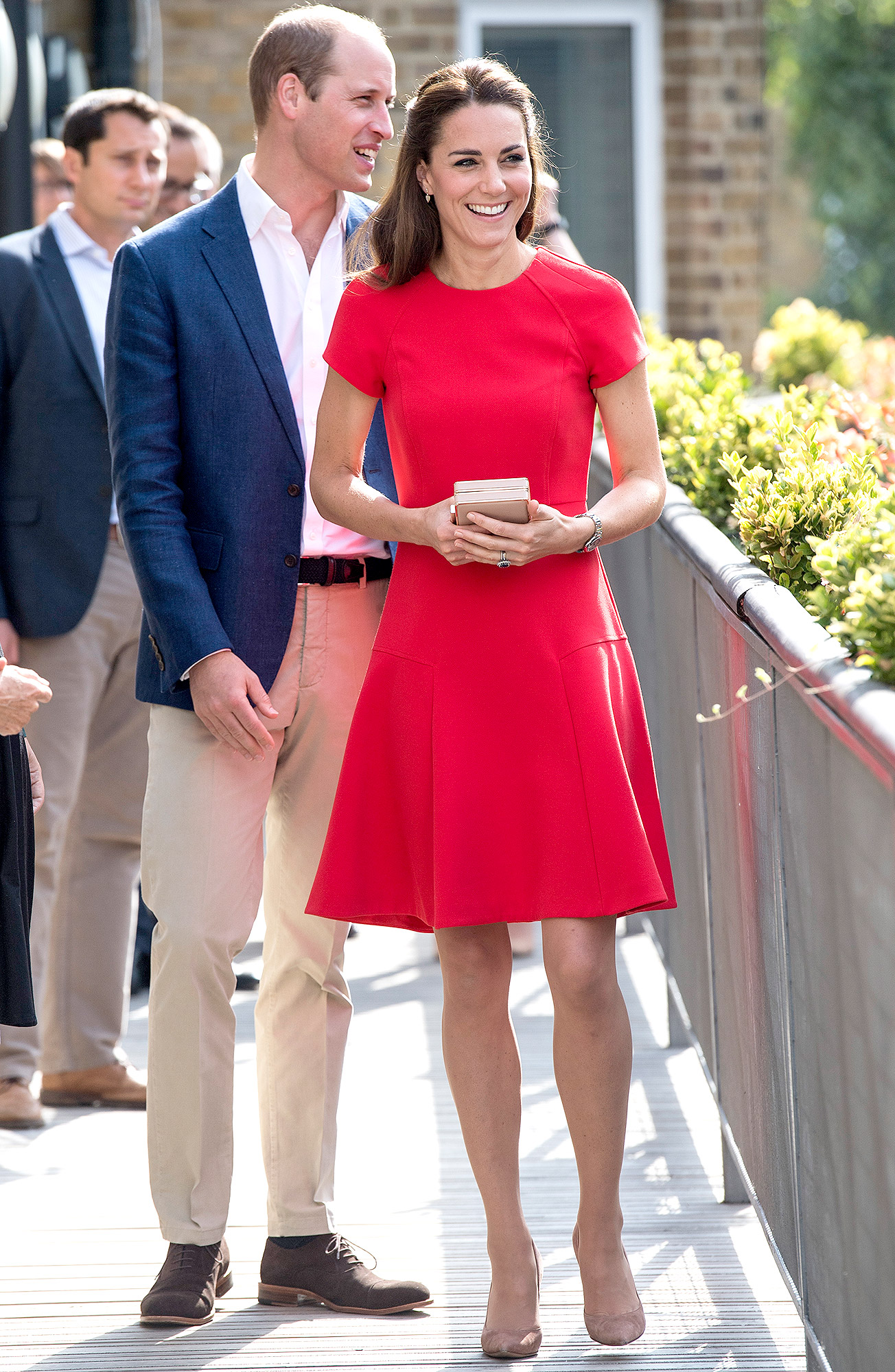 The Duke & Duchess Of Cambridge Visit YoungMinds Mental Health Charity Helpline
