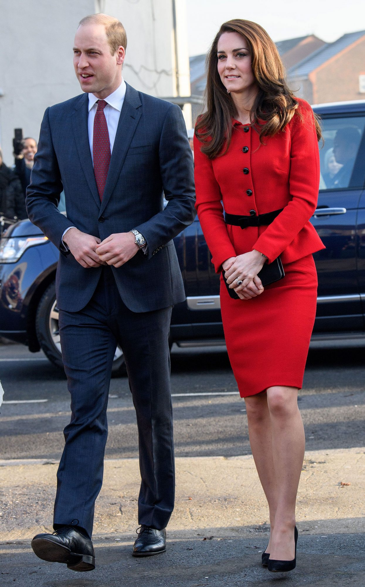 Mandatory Credit: Photo by Tim Rooke/REX/Shutterstock (8269657ac) Prince William and Catherine Duchess of Cambridge visit Mitchell Brook Primary School as part of the Heads Together campaign during Children's Mental Health week Prince William and Catherine Duchess of Cambridge visit Mitchell Brook school, London, UK - 06 Feb 2017 Catherine Duchess of Cambridge, Patron of Place2Be, accompanied by Prince William attend ?The Big Assembly? by Place2Be hosted at Mitchell Brook Primary School, as part of the Heads Together campaign to start millions of conversations on mental health in 2017. The Big Assembly, on the theme of kindness, is one of many being held at primary schools across the UK to mark Children's Mental Health Week (6th ? 12th February 2017).