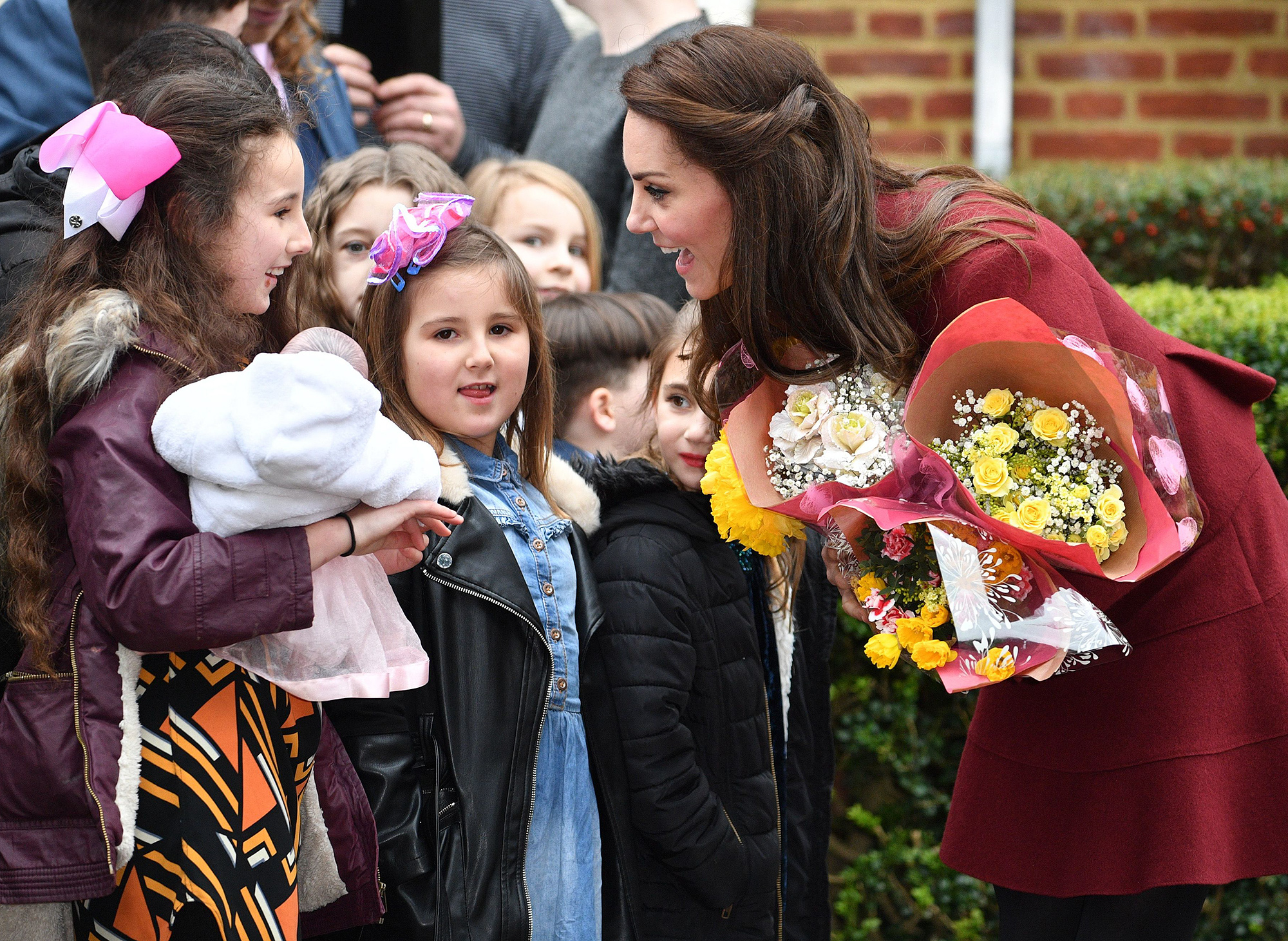 Catherine Duchess of Cambridge visits 'Action For Children', Pontypool, Wales, UK - 22 Feb 2017