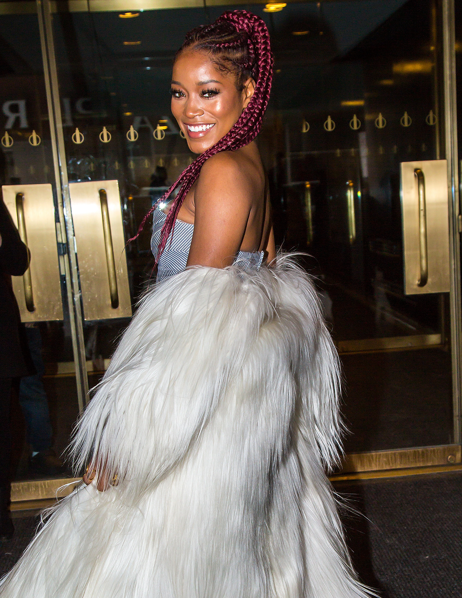 Keke Palmer Seen Leaving 'Today' Show in New York City