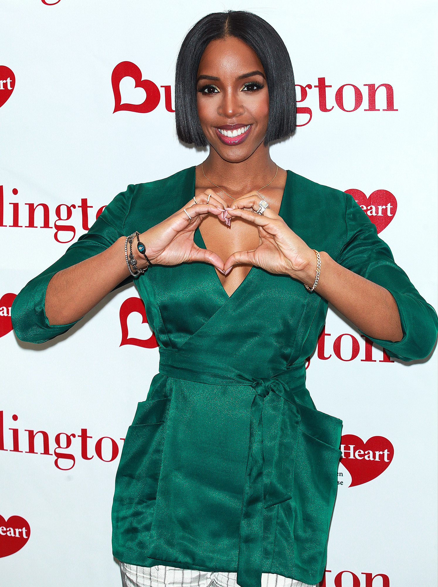 Mandatory Credit: Photo by MediaPunch/REX/Shutterstock (8174592d) Kelly Rowland '#KnockOutHeartDisease', event, New York, USA - 31 Jan 2017