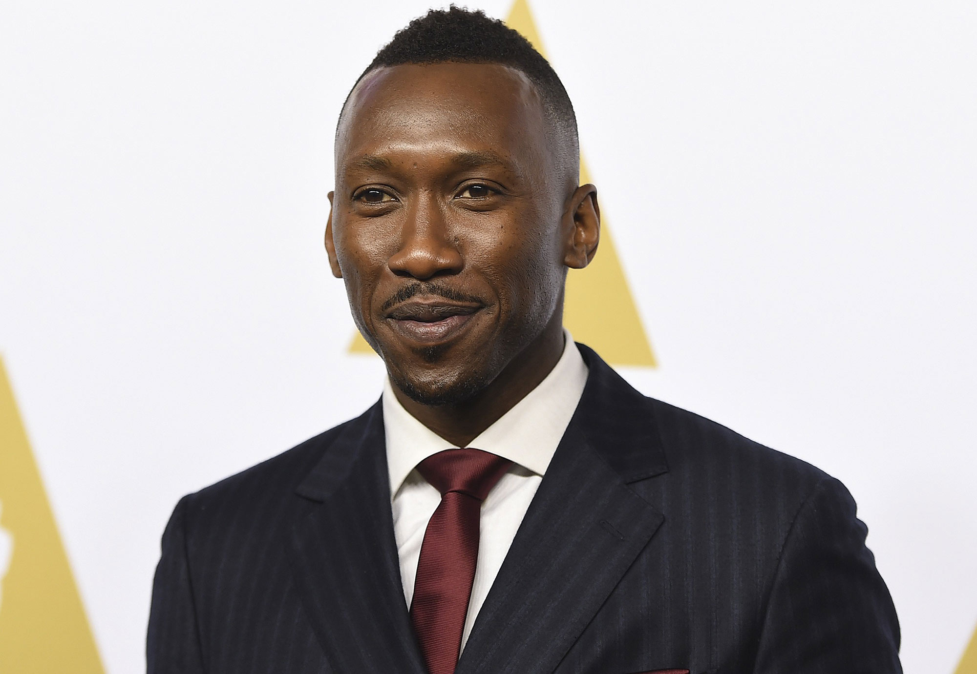 Mahershala Ali arrives at the 89th Academy Awards Nominees Luncheon at The Beverly Hilton Hotel on Monday, Feb. 6, 2017, in Beverly Hills, Calif. (Photo by Jordan Strauss/Invision/AP)