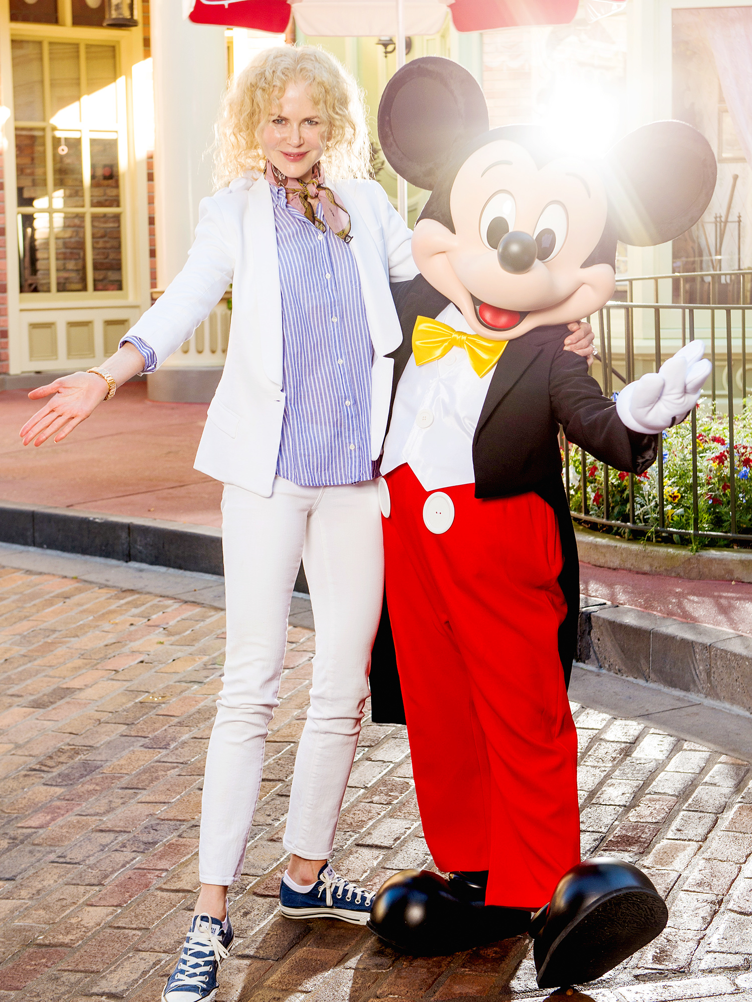 Nicole Kidman Visits Disney World