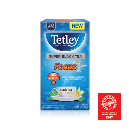 Beverage: Tetley Super Tea Winners of the product of the year awards in the food categories Consumer Survey of Product Innovation 2/10/17