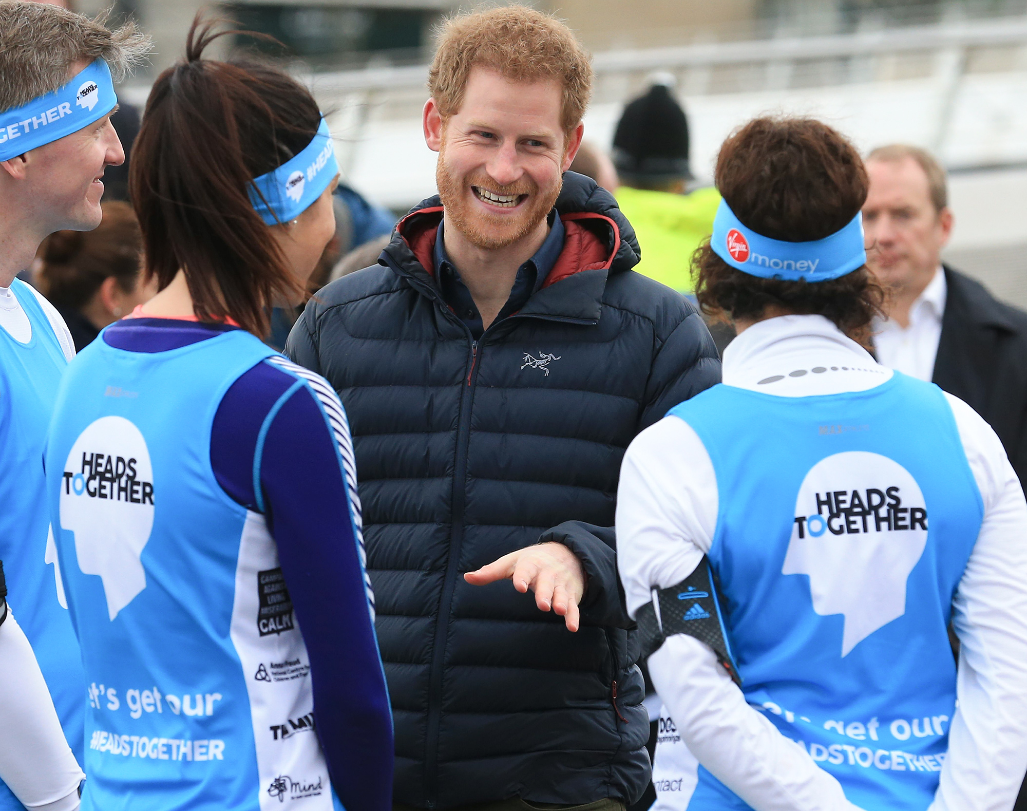 Prince Harry visits Newcastle and Gateshead, UK - 21 Feb 2017