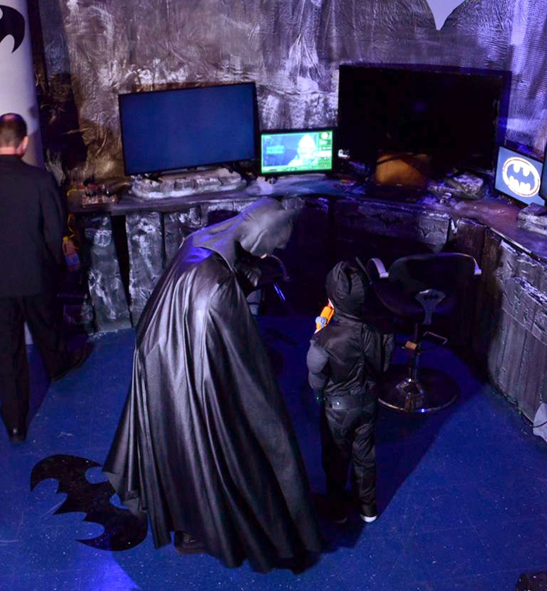 7-Year-Old with Brain Cancer Meets His Favorite Superhero Inside an Actual Batcave Ty Verbanas Credit: courtesy of Julie Hirsch