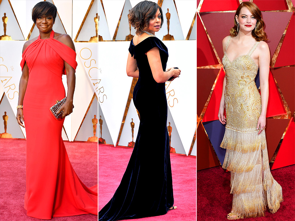 GORGEOUS OSCARS GOWNS