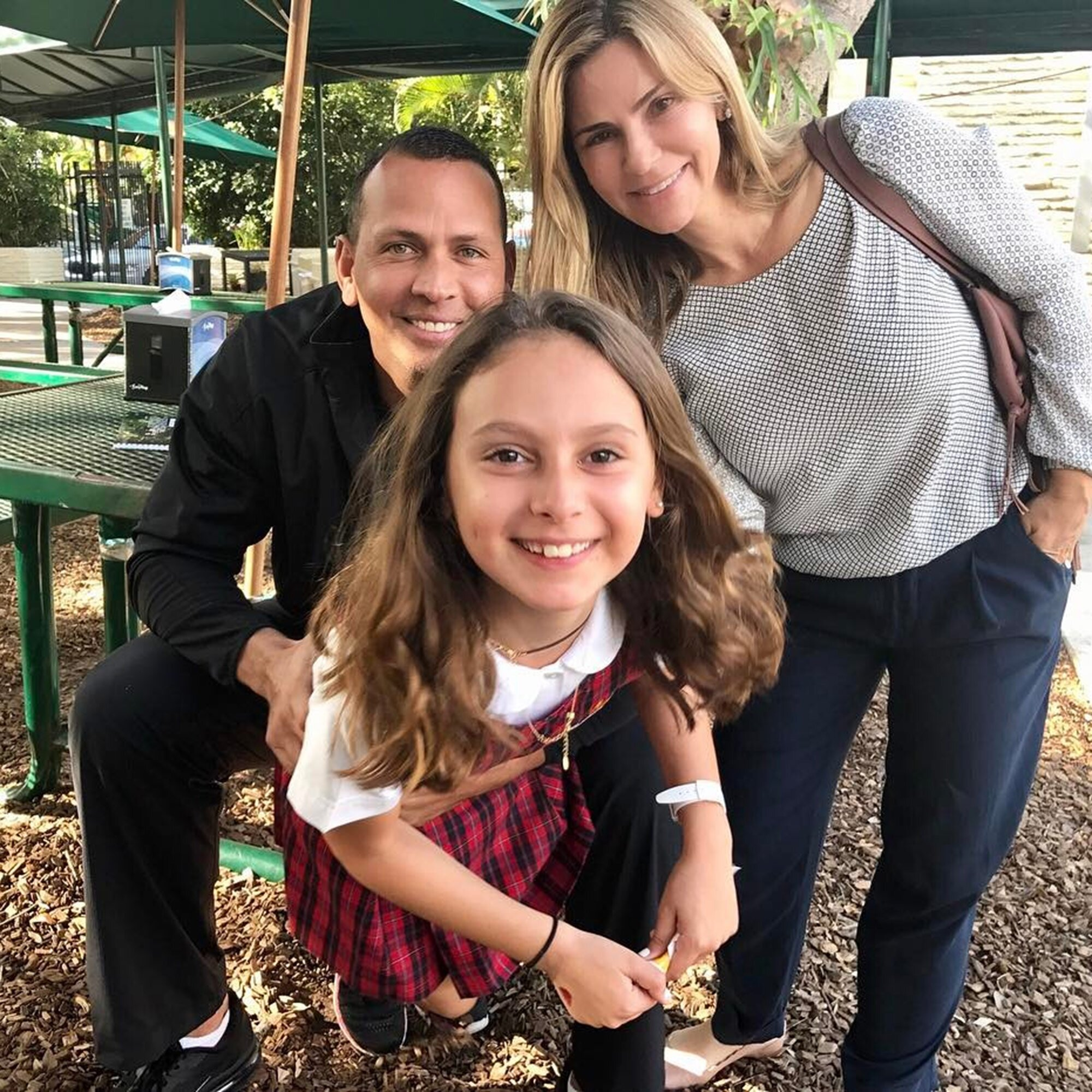 Alex Rodriguez Shares Photo With Daughter Ella And Ex Wife Cynthia