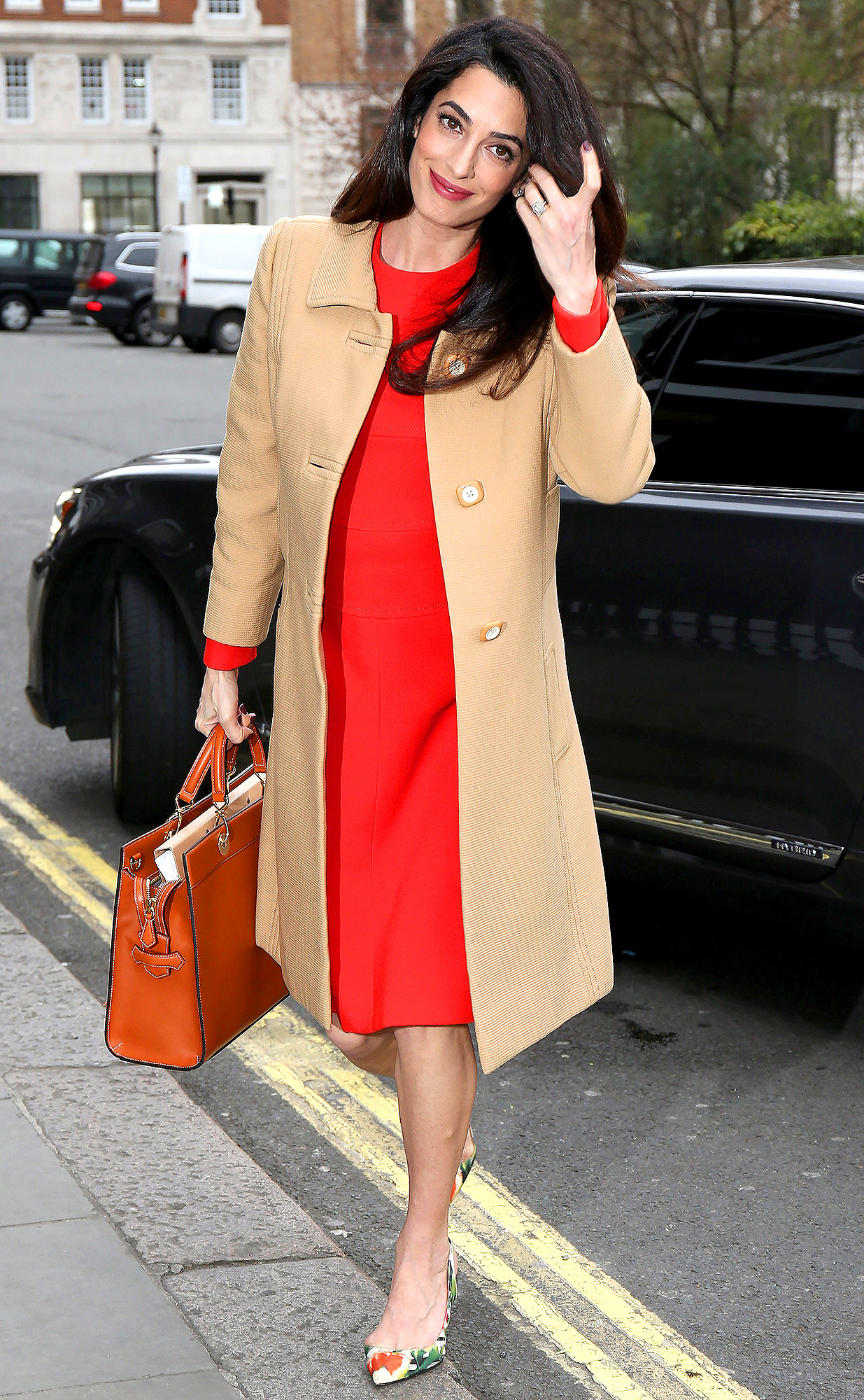 Amal Clooney Sighting In London  -  March 29, 2017