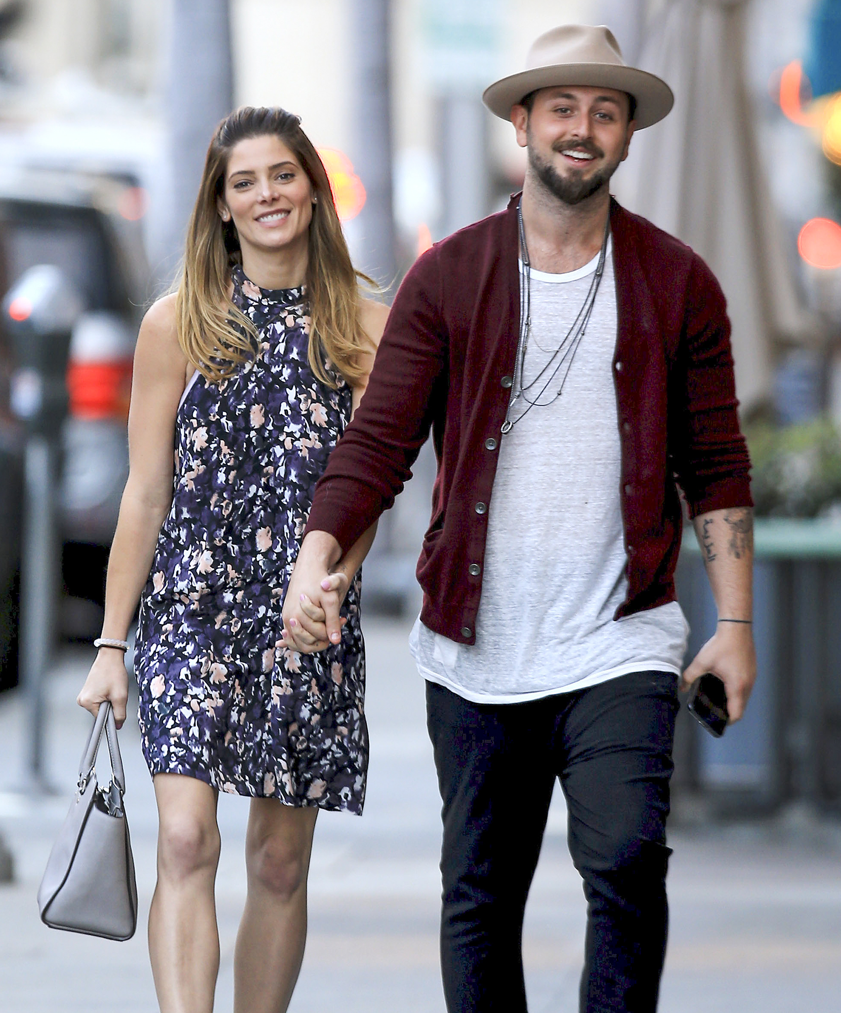 Exclusive... Ashley Greene And Paul Khoury In Beverly Hills