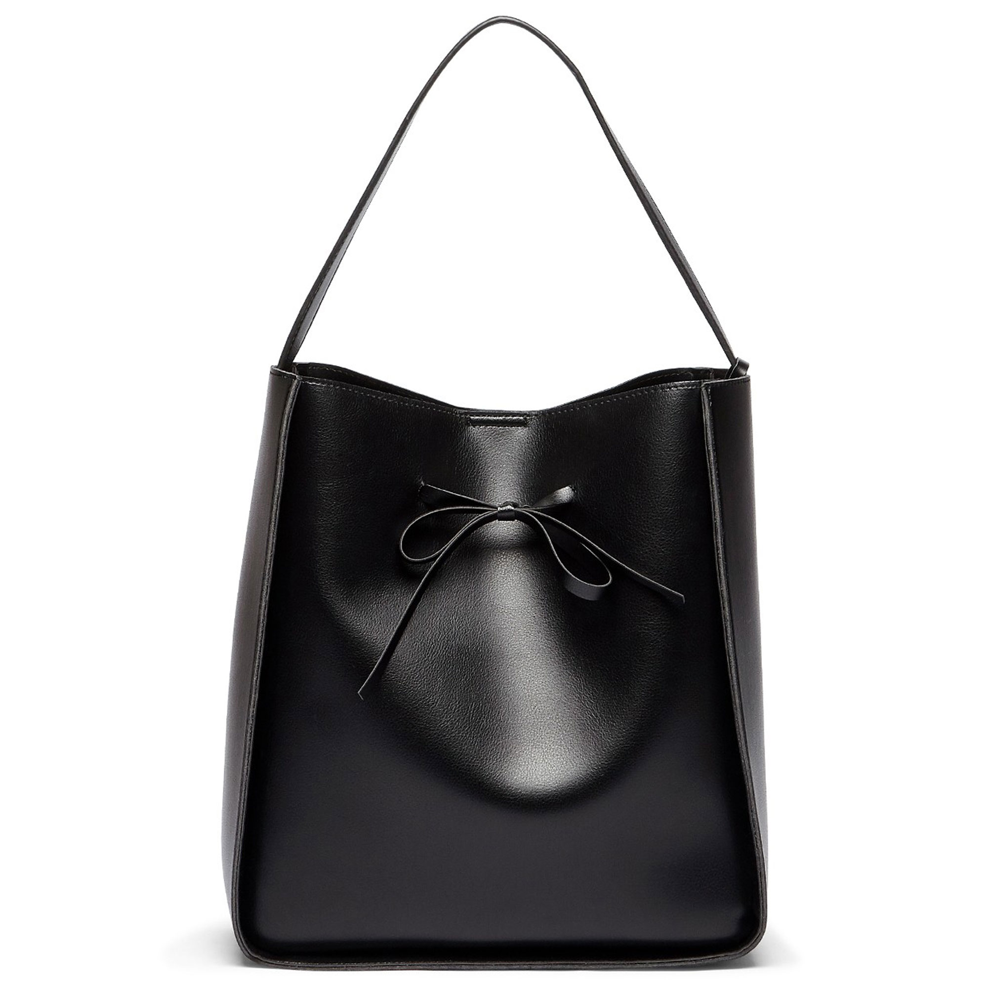 SPRING BAGS THAT LOOK EXPENSIVE - GalleryBlack handbagCourtesy Sole Society