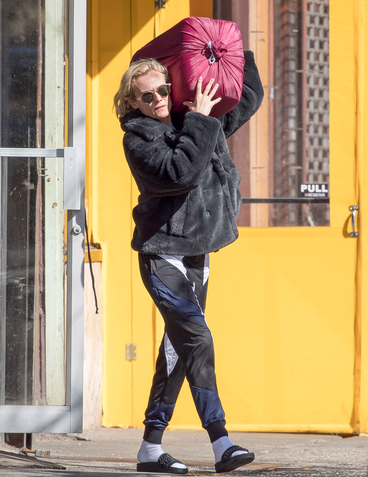 EXCLUSIVE: Diane Kruger is Spotted out on a Stroll Today in NYC
