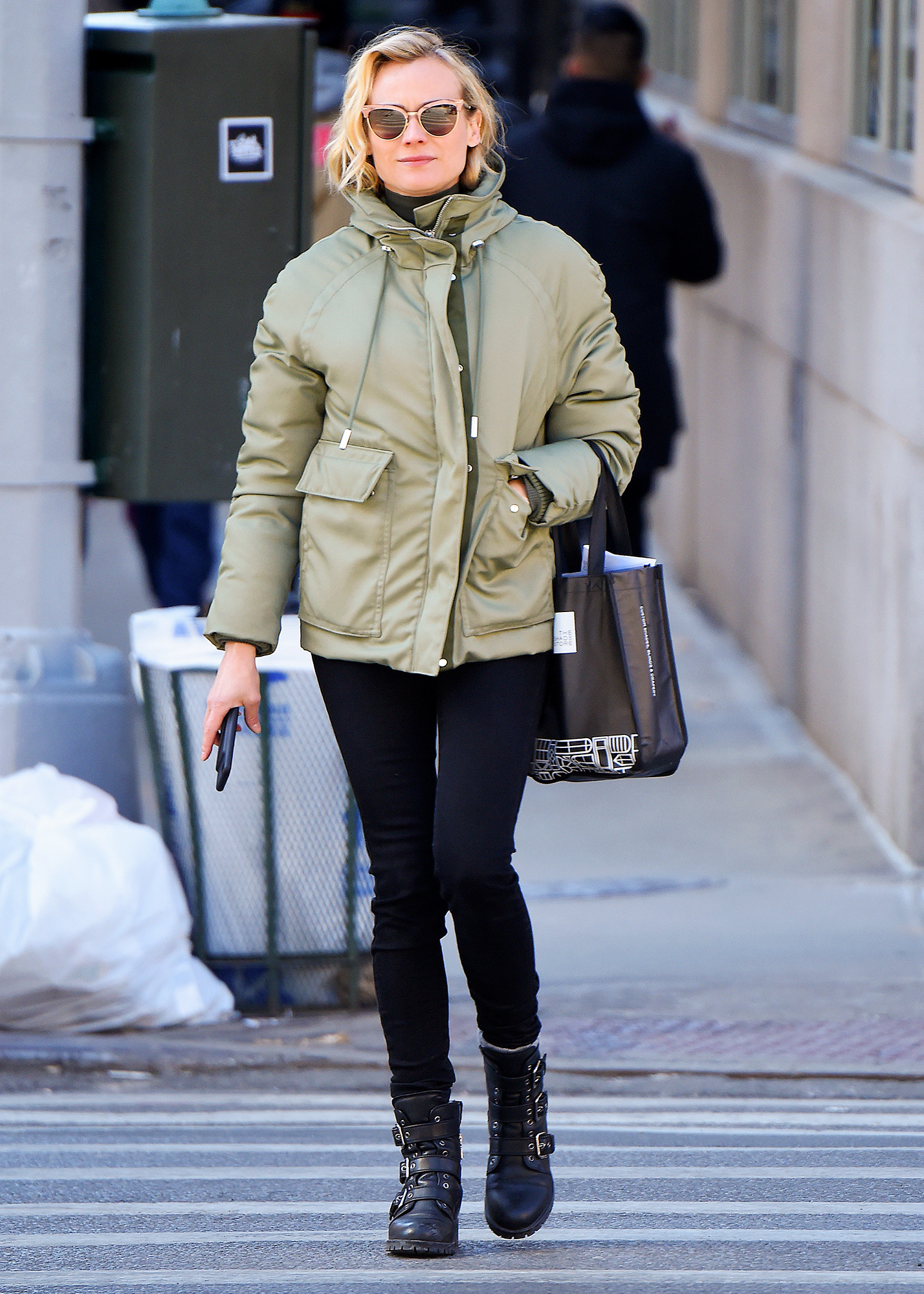 BuzzFoto Celebrity Sightings In New York - March 23, 2017