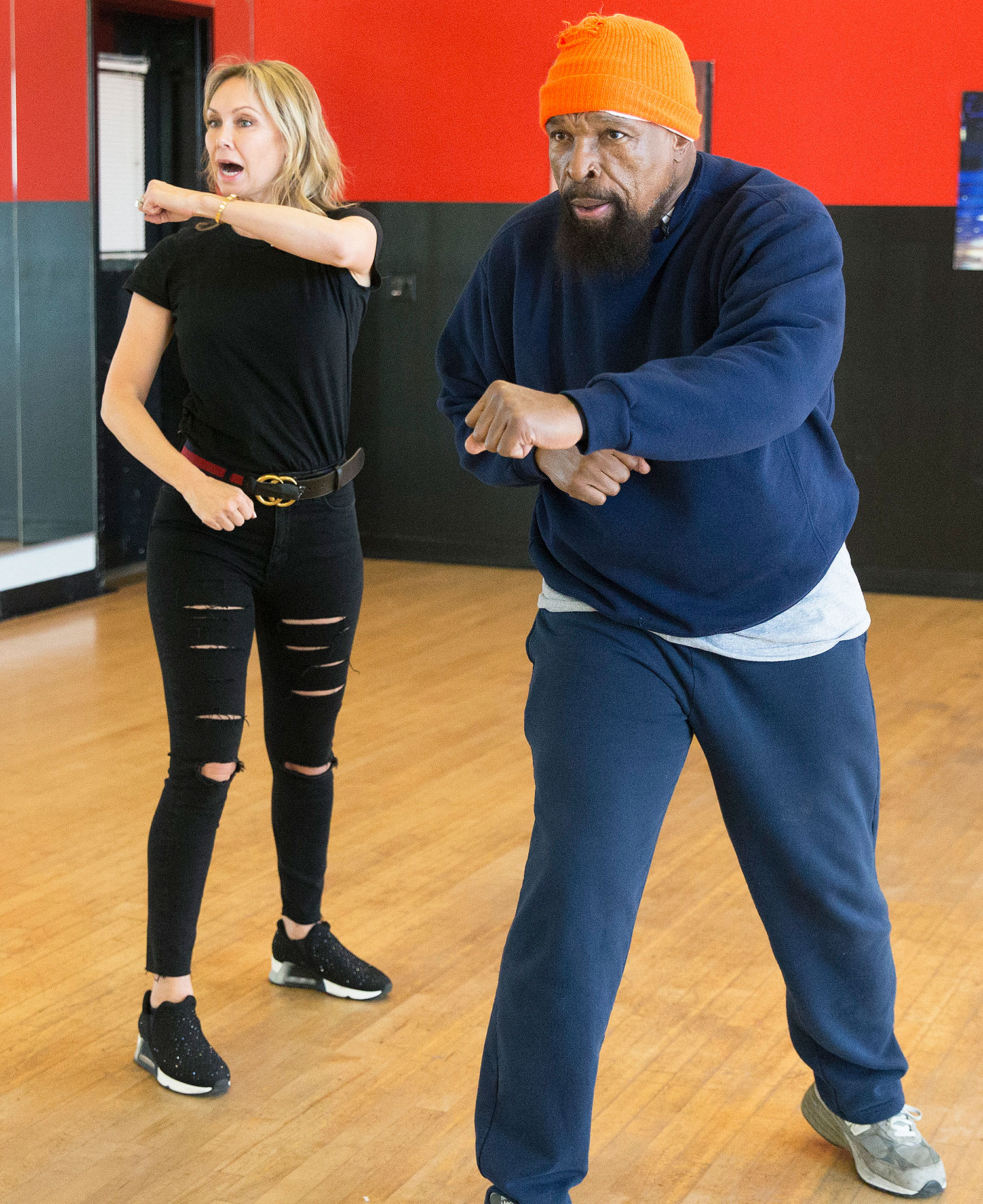 KYM JOHNSON, MR. T