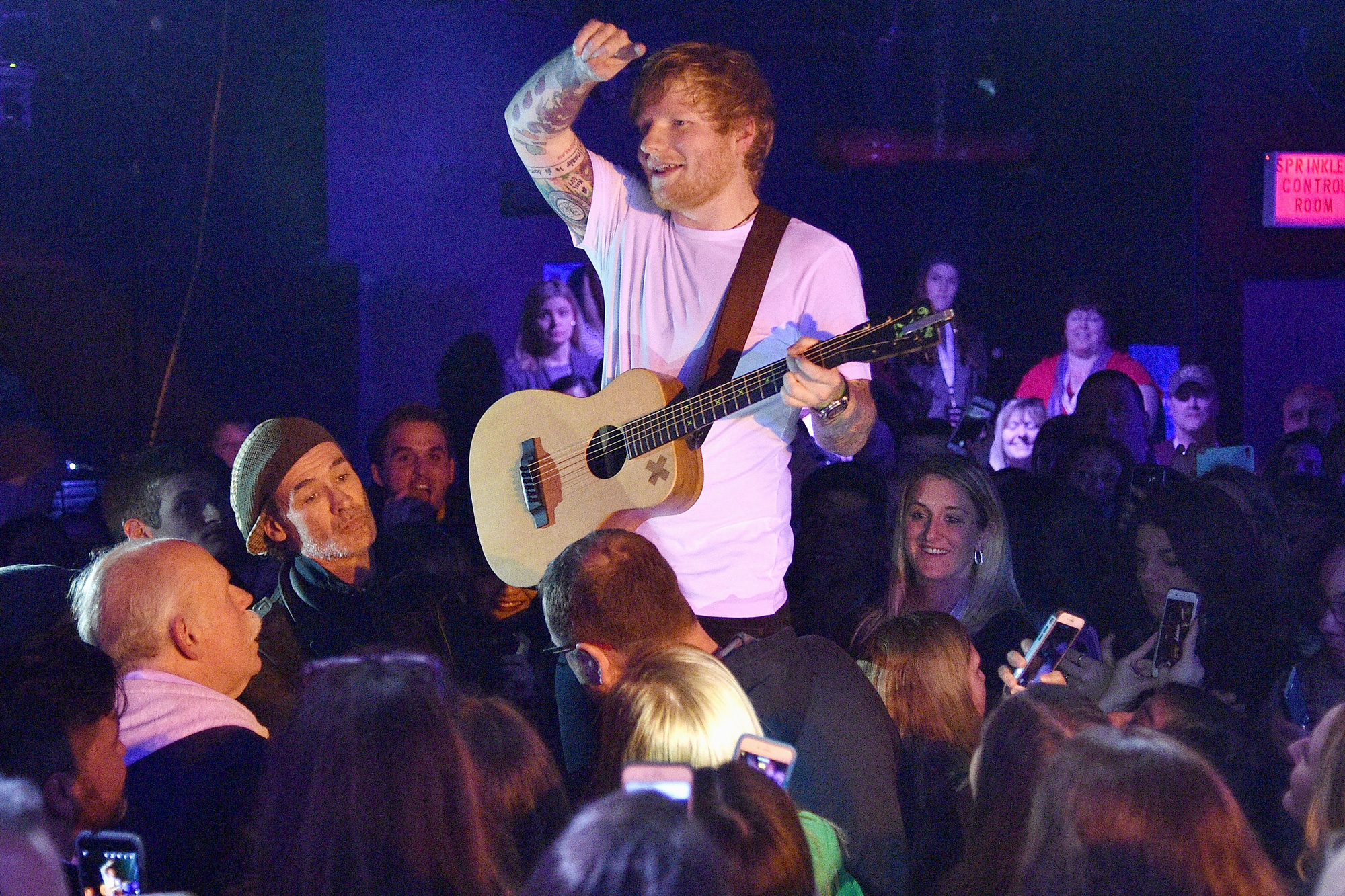 """Ed Sheeran Performs For SiriusXM's """"Secret Show"""" Series At The Studio At Webster Hall; Performance To Air On SiriusXM Hits 1 And The Pulse Channels"""