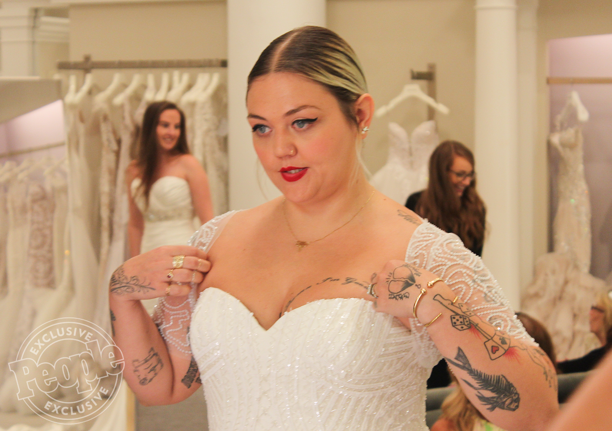 FIRST LOOK - Elle King on Say Yes To The Dress. CREDIT: TLC