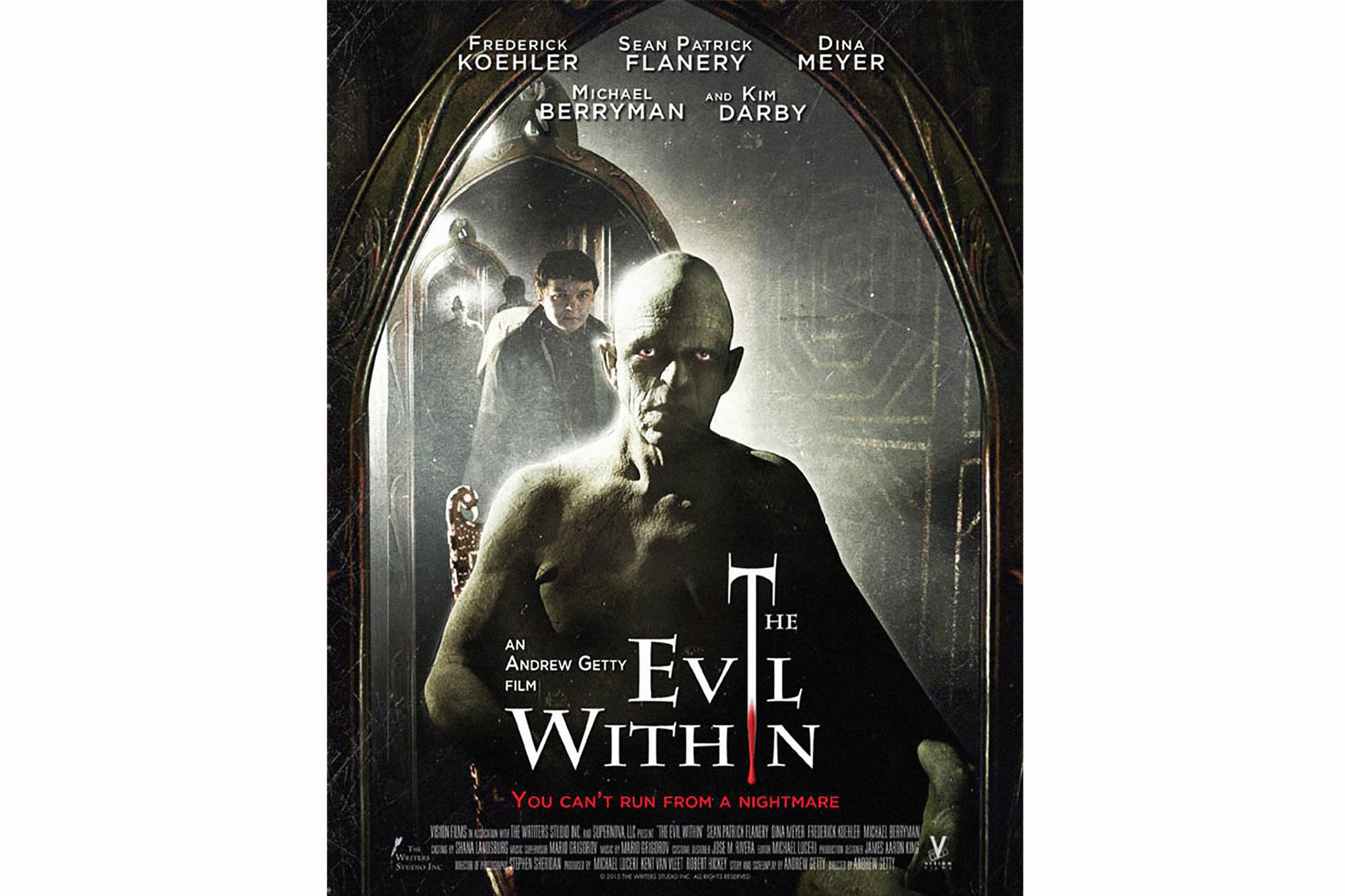 THE EVIL WITHIN, poster, 2016. © Bethesda Softworks /Courtesy Everett Collection