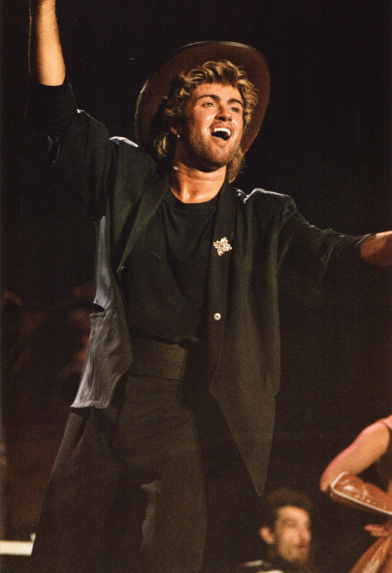 Wham Perform At Birmingham NEC In 1985