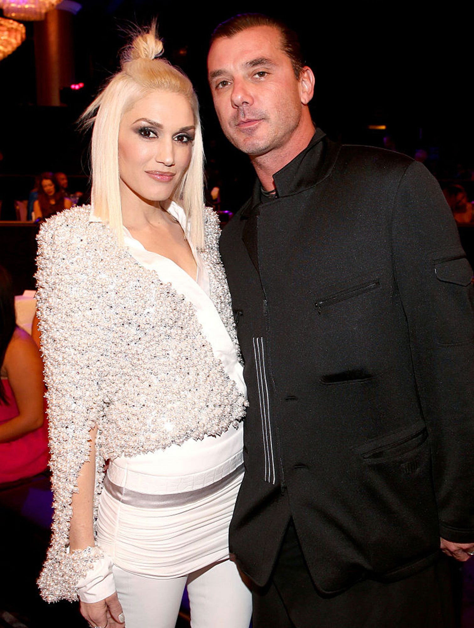 BEVERLY HILLS, CA - DECEMBER 18: Recording artists Gwen Stefani (L) and Gavin Rossdale attend the PEOPLE Magazine Awards at The Beverly Hilton Hotel on December 18, 2014 in Beverly Hills, California. (Photo by Chris Polk/PMA2014/Getty Images for dcp)