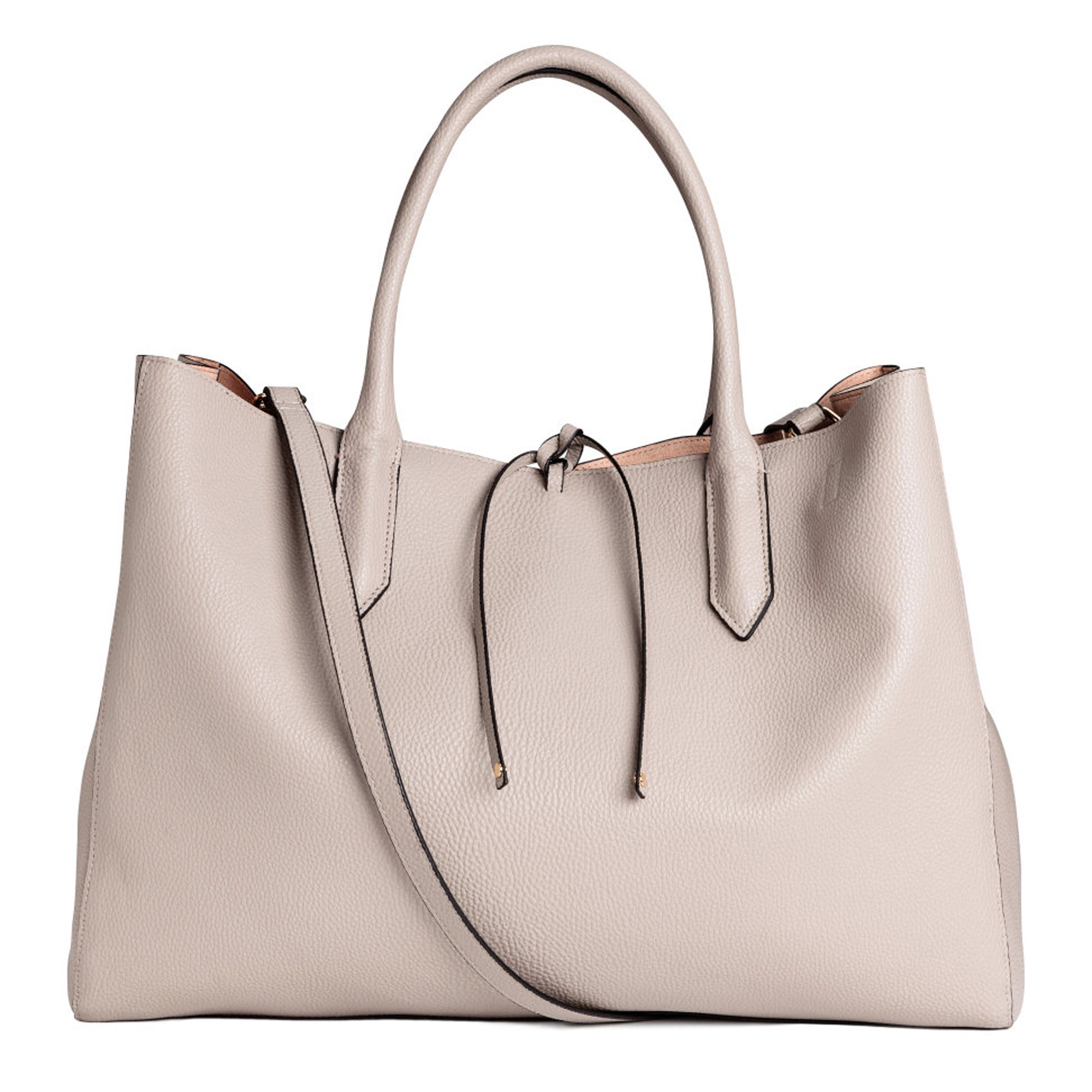 SPRING BAGS THAT LOOK EXPENSIVE - Gallerycream handbagCourtesy H&M