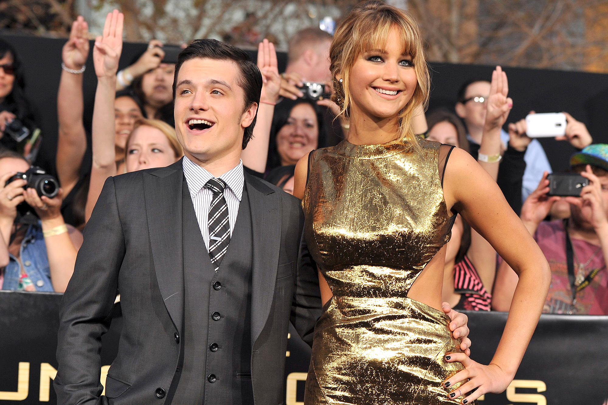 """Premiere Of Lionsgate's """"The Hunger Games"""" - Red Carpet"""