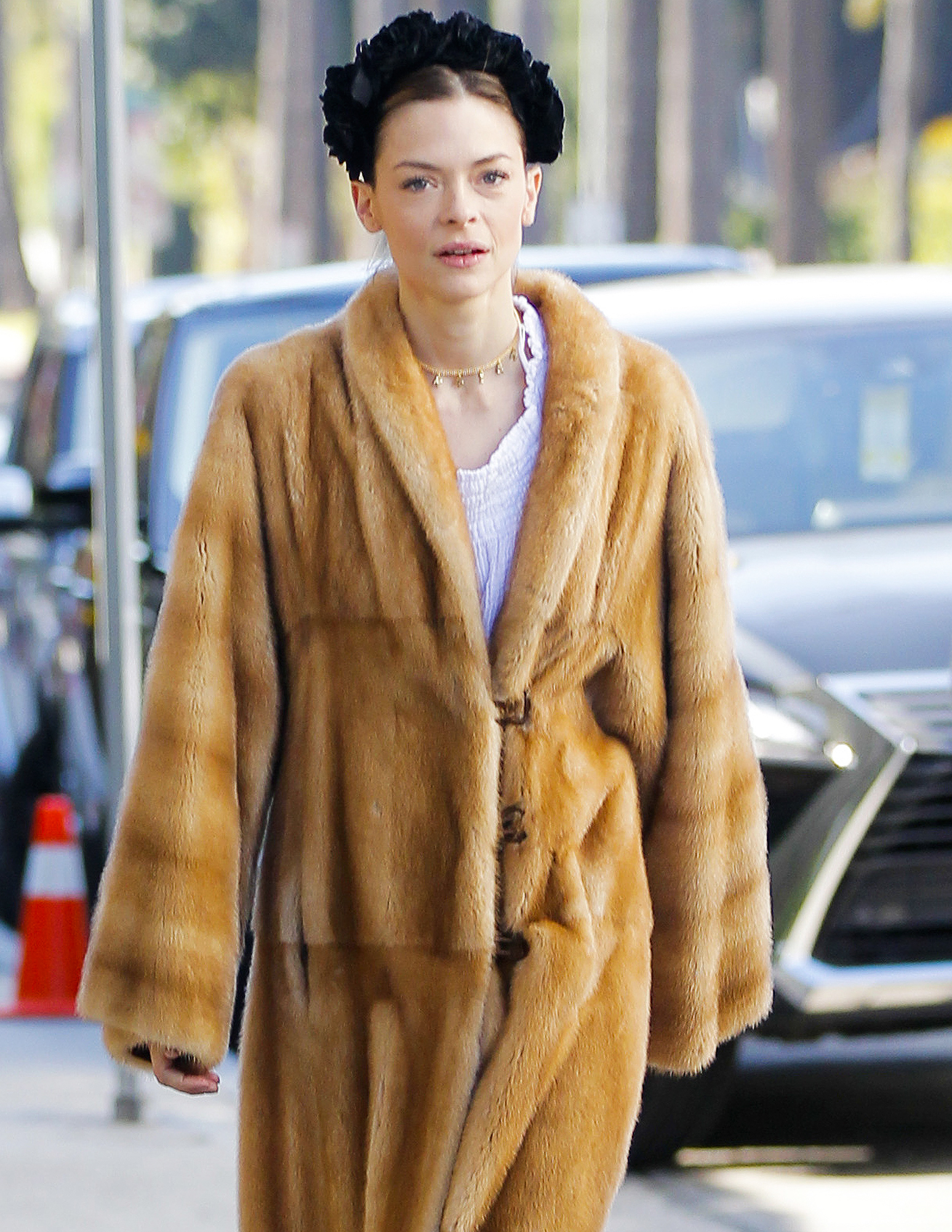 Exclusive... Jaime King Out And About In Beverly Hills