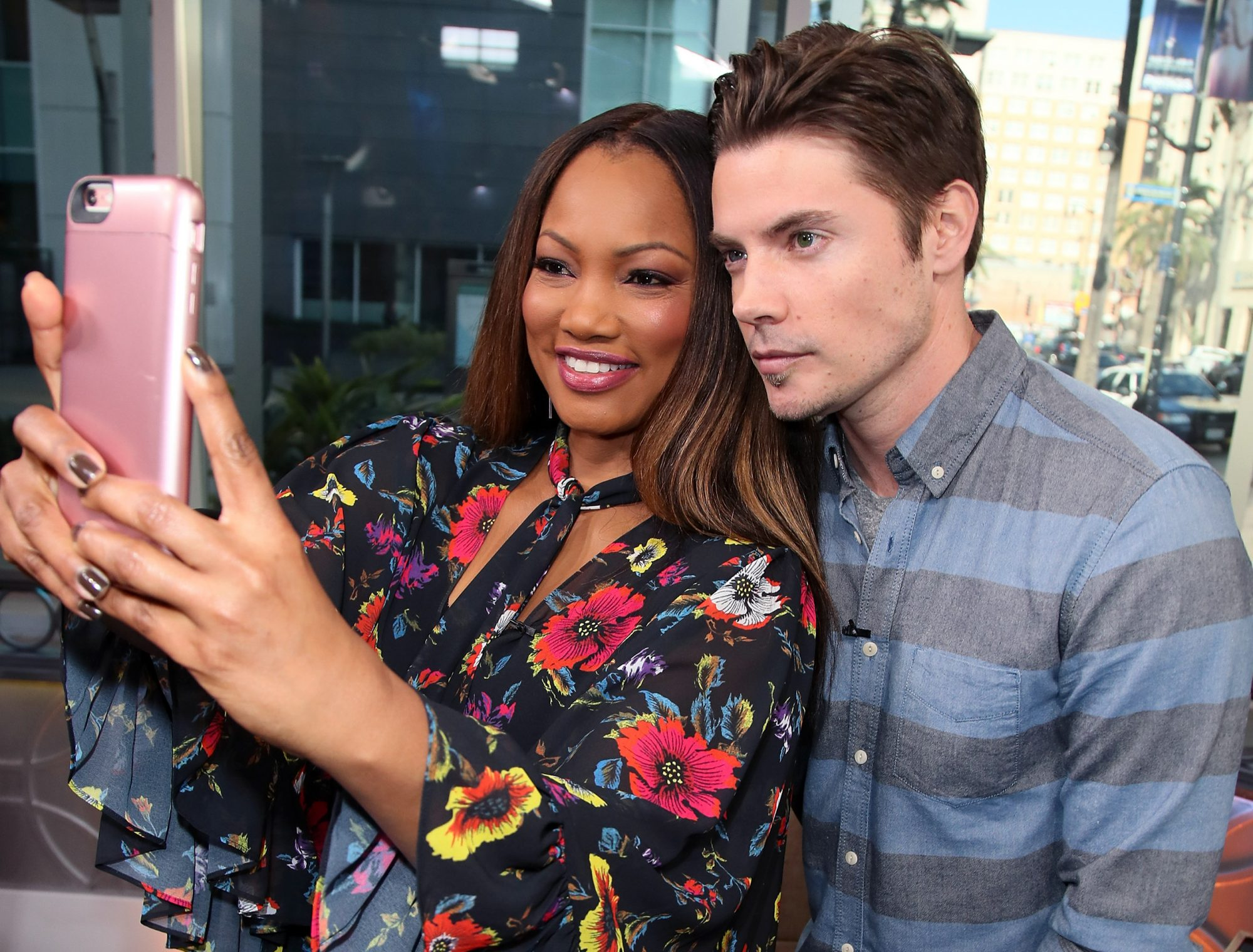 Celebrities Visit Hollywood Today Live