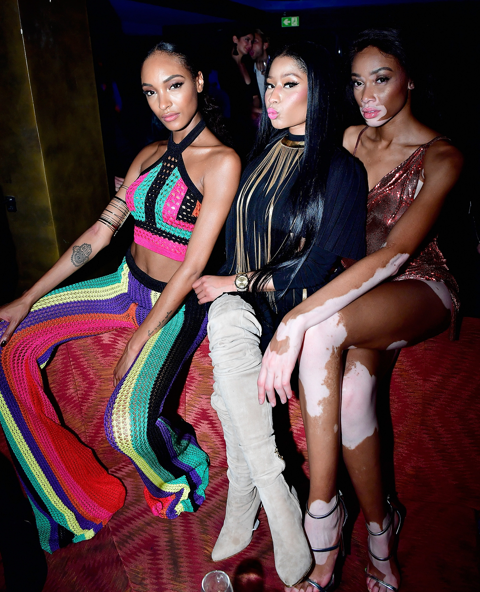 Balmain : Aftershow Party - Paris Fashion Week Womenswear Fall Winter  2017/2018