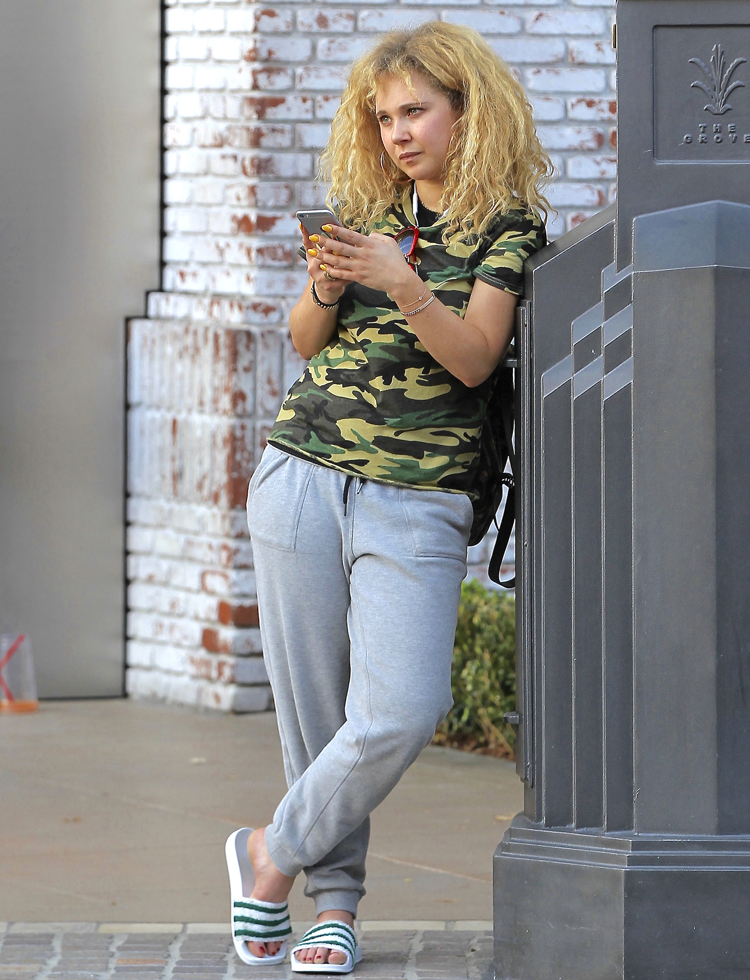 Exclusive... Juno Temple Shops At The Grove