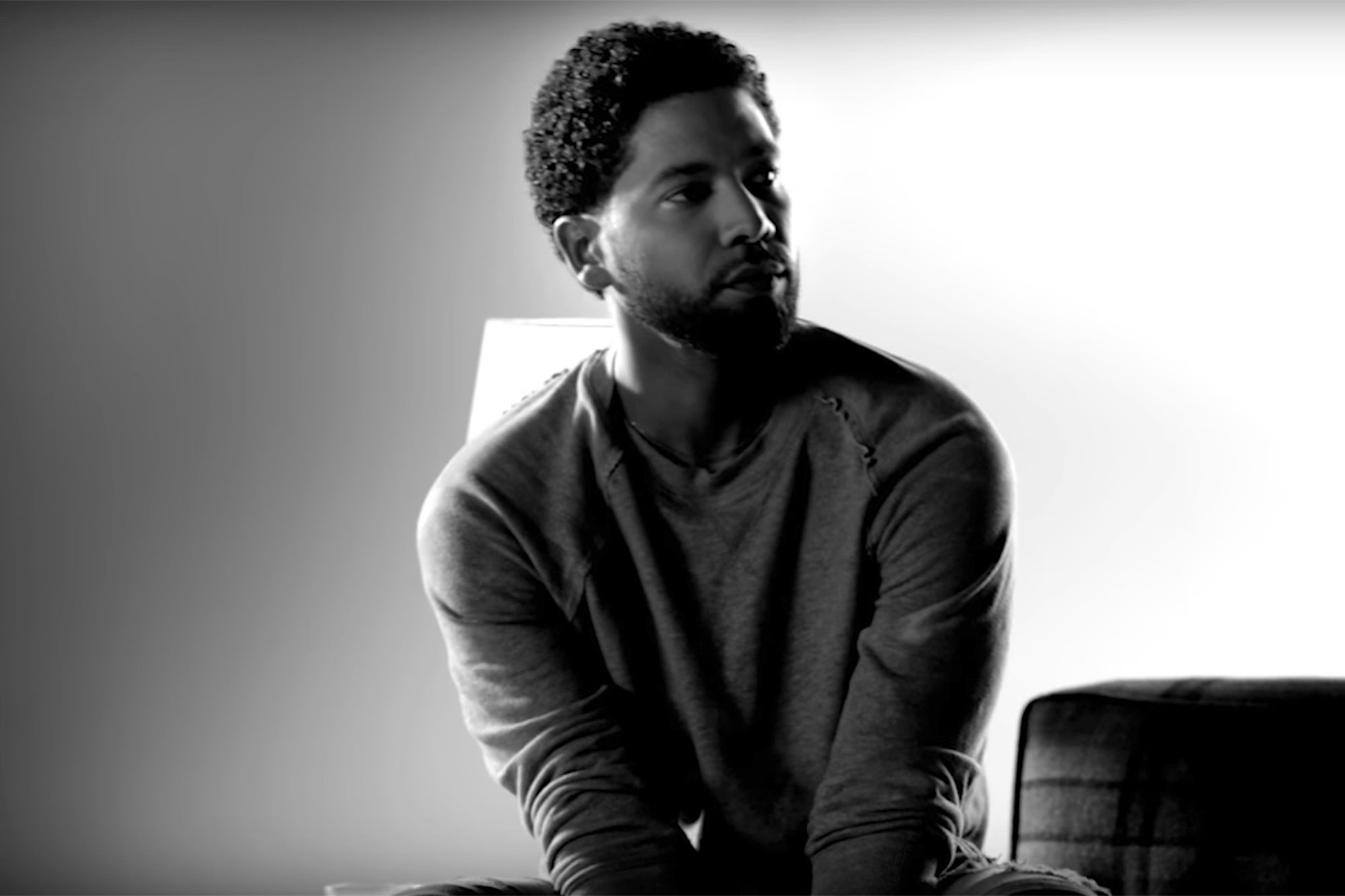 Jussie SmollettCredit: Jussie Smollett/Youtube