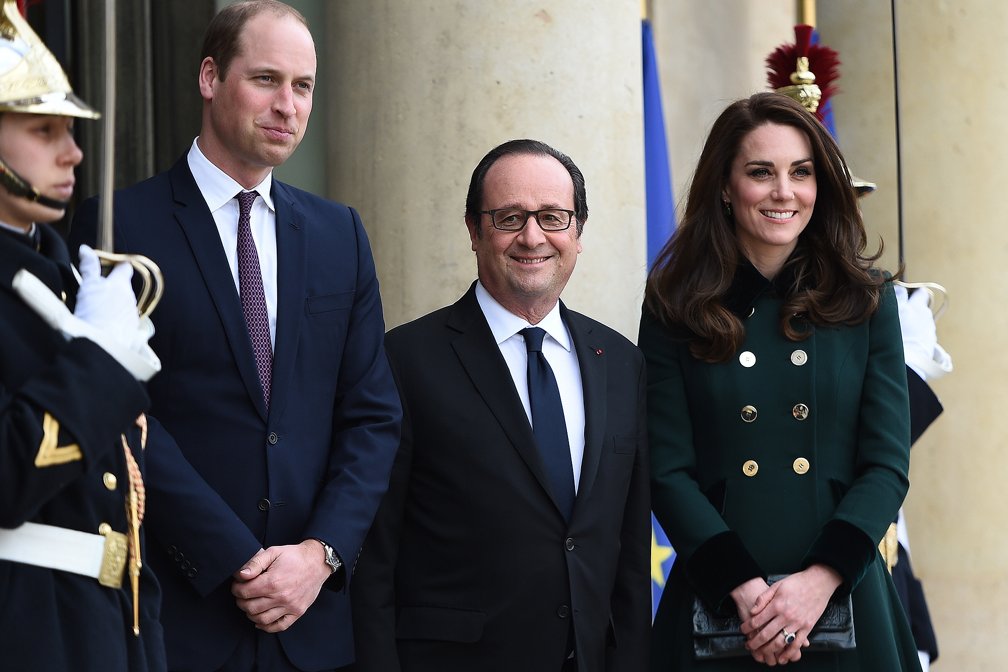 The Duke And Duchess Of Cambridge Visit Paris - Day One