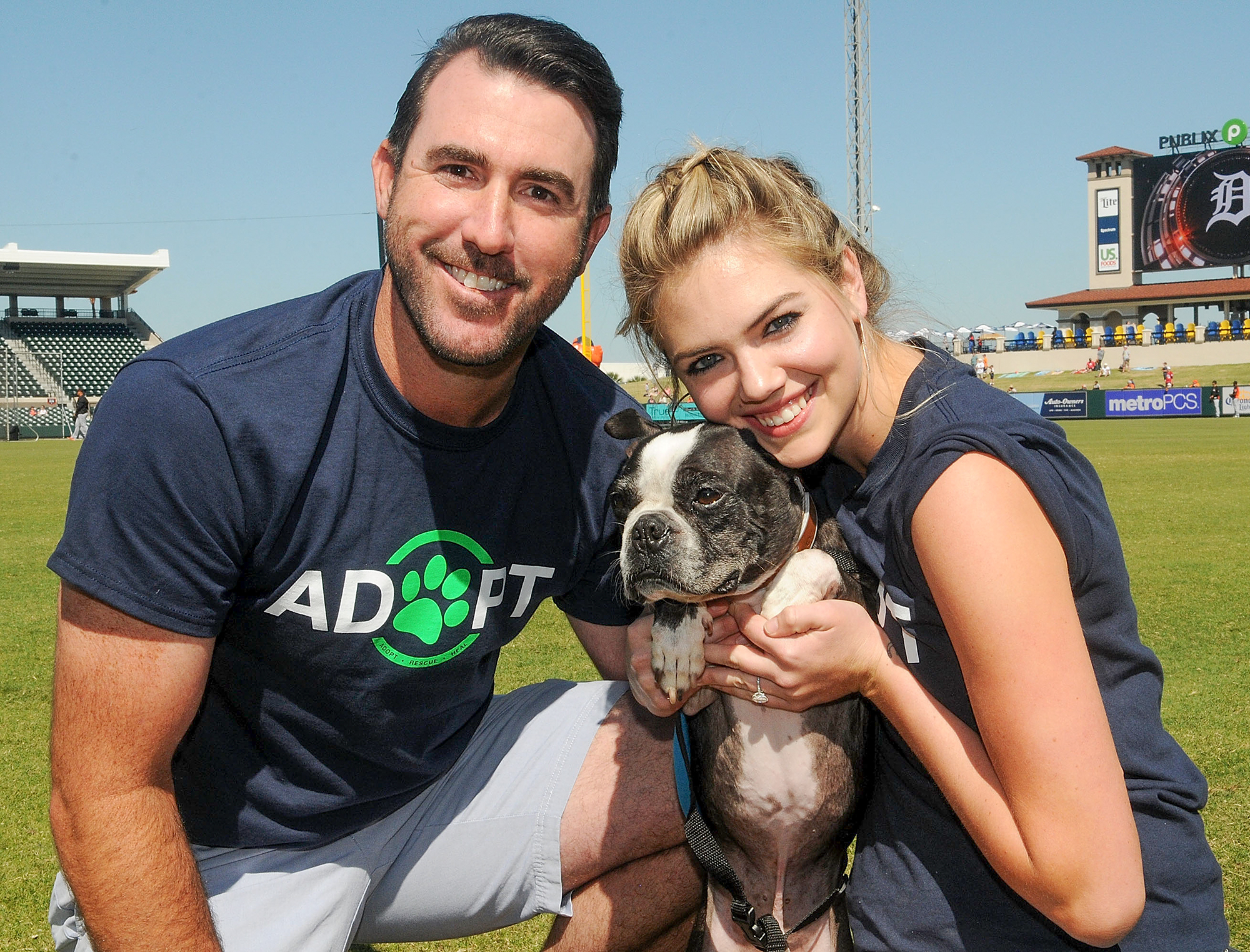 Kate Upton And Justin Verlander Host Grand Slam Adoption Event With Wins For Warriors Foundation