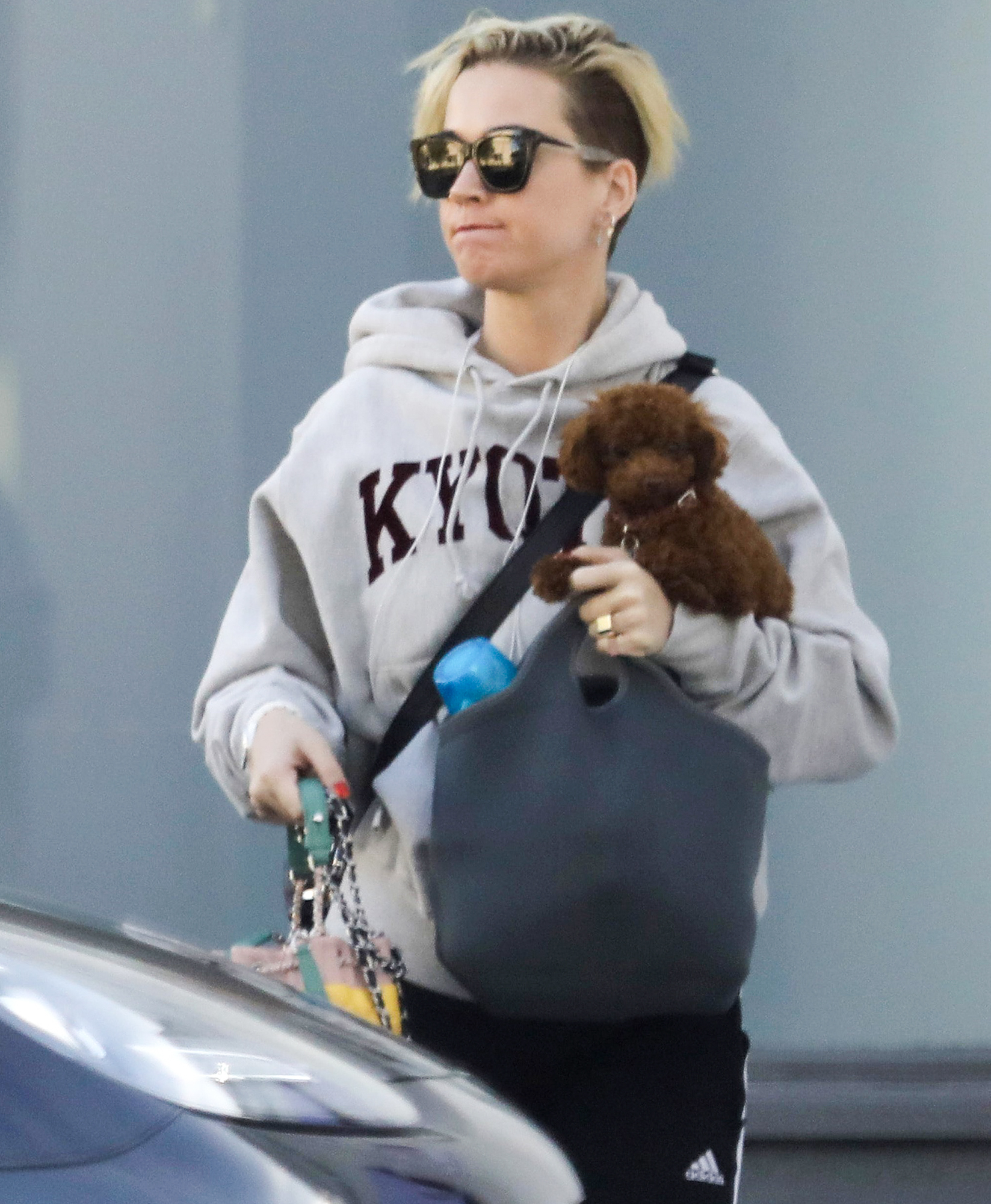 *EXCLUSIVE* Katy Perry wears a hoodie from her trip to Japan with Orlando Bloom