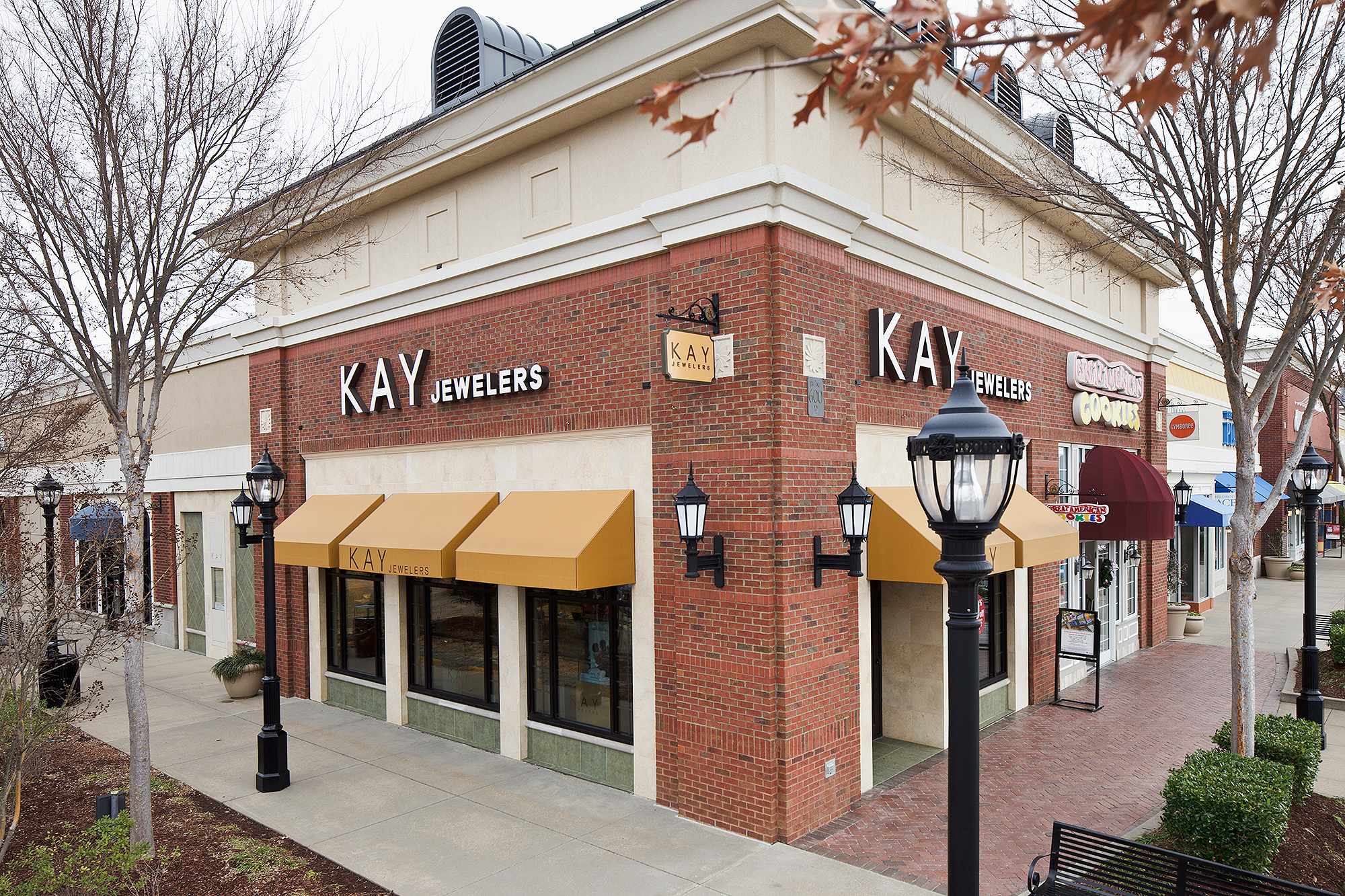 Kay Jewelers at a shopping mall in Tennessee