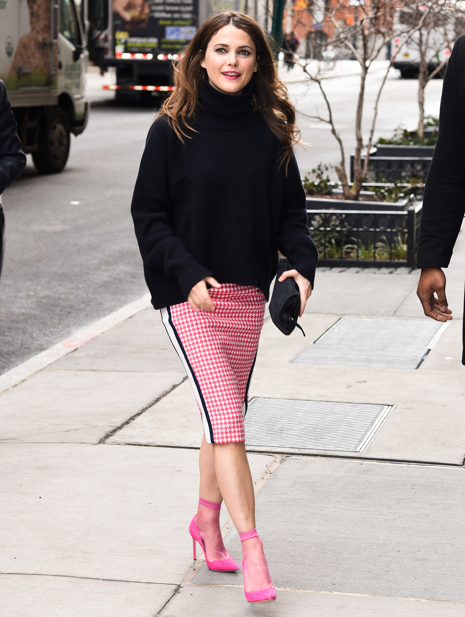out and about for Celebrity Candids - WED, , New York, NY March 8, 2017. Photo By: Derek Storm/Everett Collection